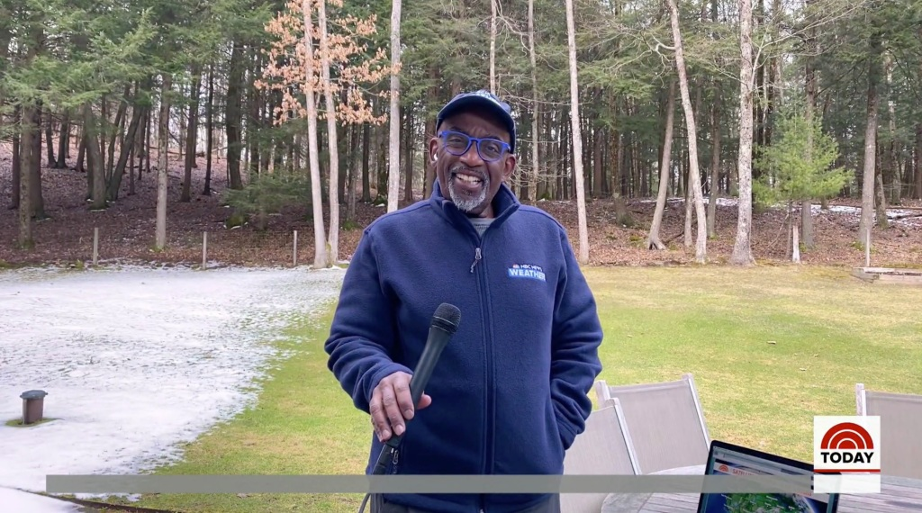 Al Roker shows off his backyard 'Today Show' broadcast setup with dual iPhones + iPad Pro