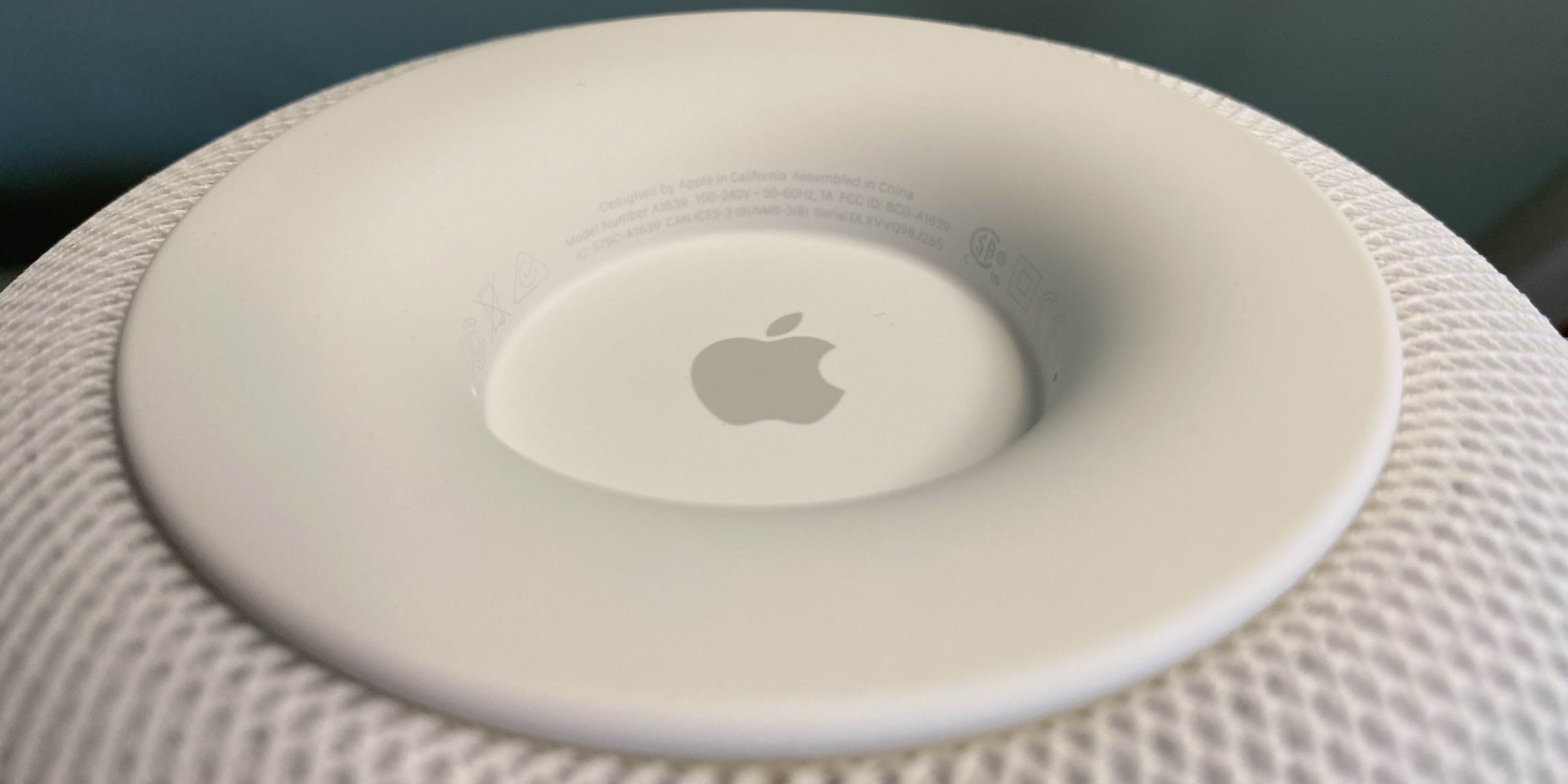 How to find serial number HomePod