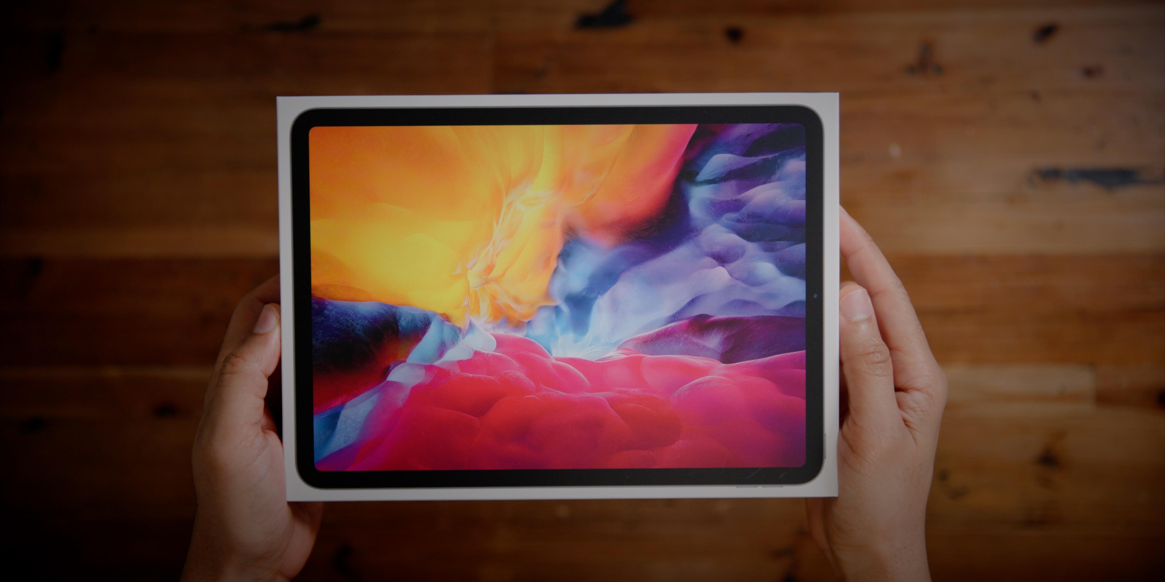 "iPad Pro 12.9"" Wi-Fi 256GB ORIGINAL BOX ONLY Apple 2018 Great Shape"