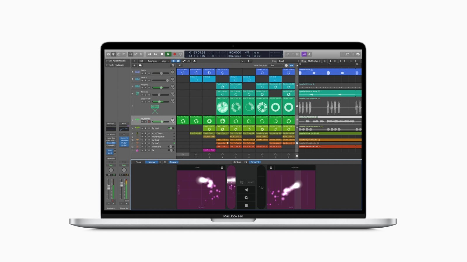 Unreleased version of Logic Pro X surfaces on Apple's website with Live Loops feature