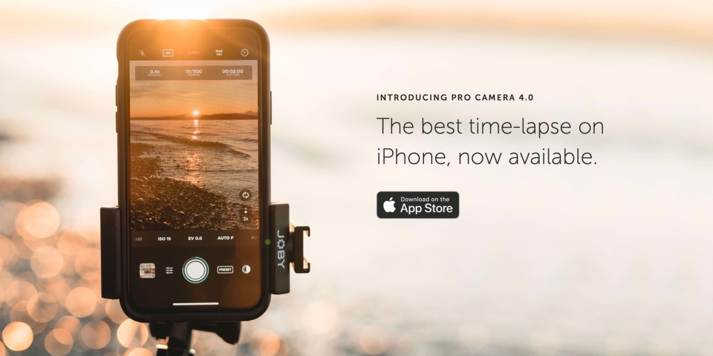 photo of Moment Pro Camera iOS app gets big update to shoot next-level time-lapses image