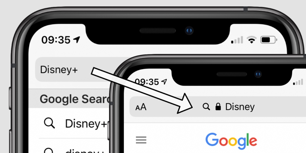 You can't search for a plus sign in Safari on iOS 13.4 and macOS 10.15.4