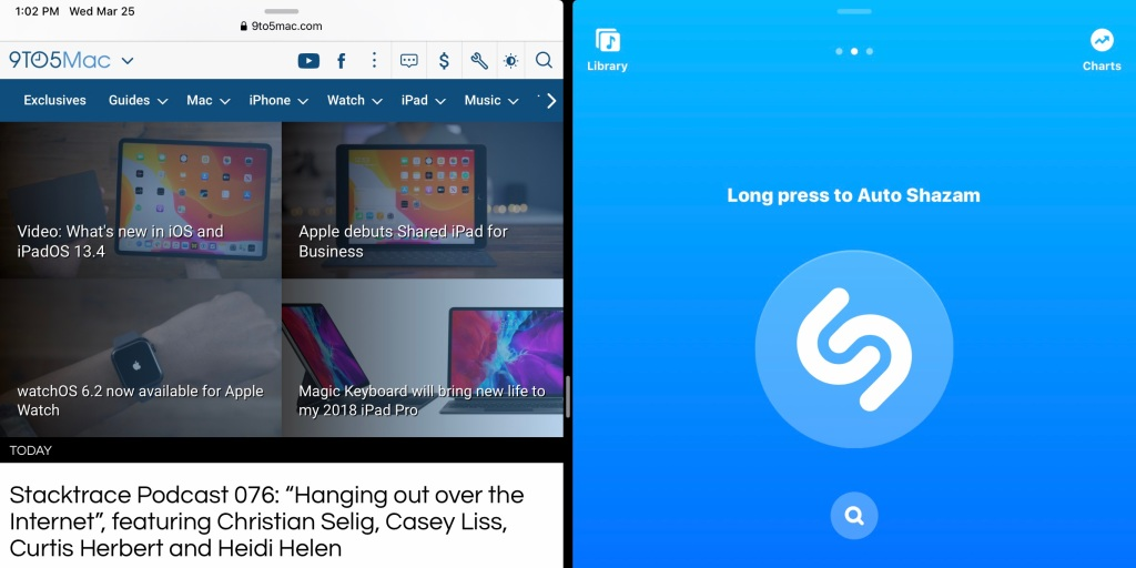 photo of Shazam update brings Split View support to iPad along with new delete gesture image