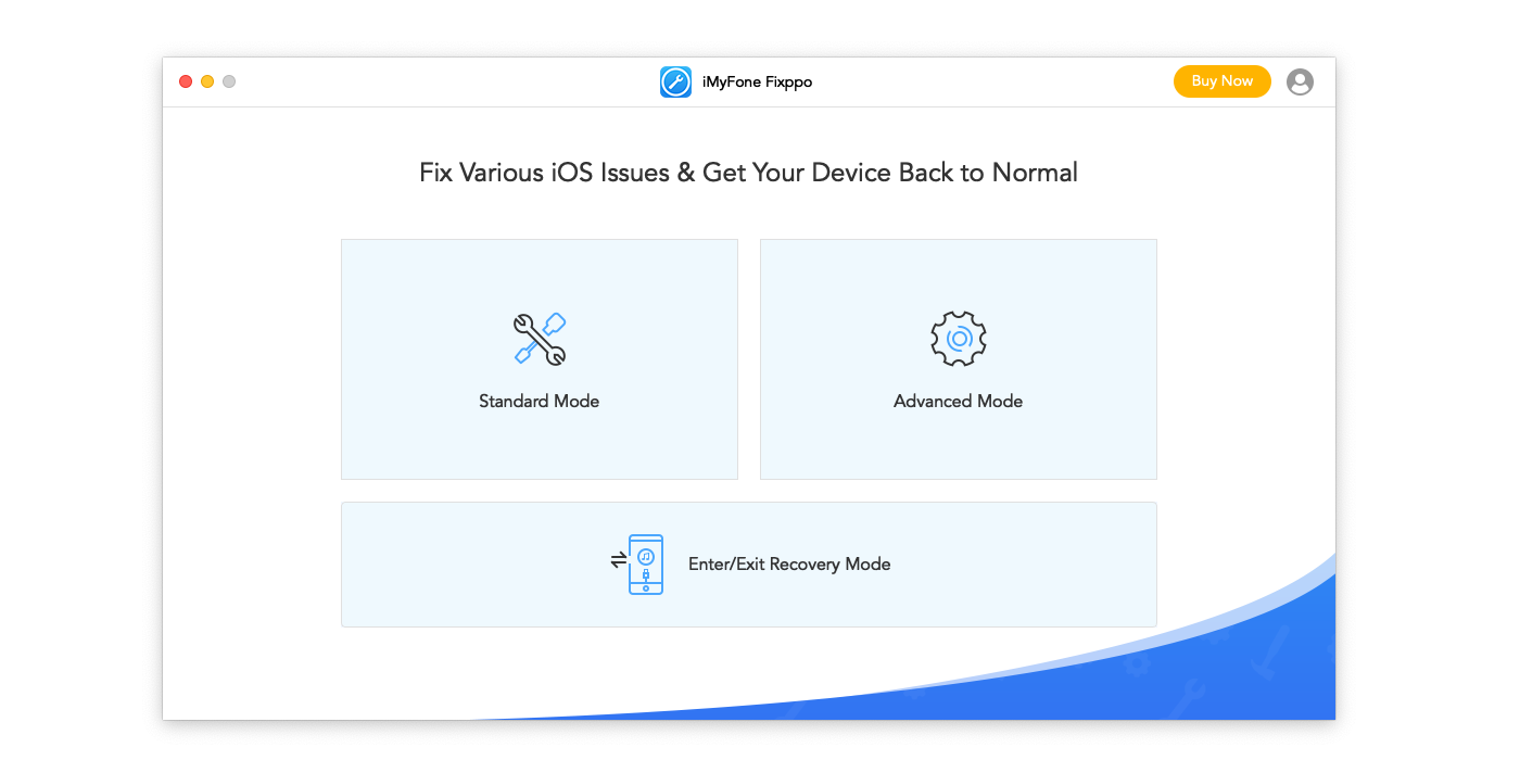 Fix iPhone Black Screen and Other System Problems with IMyFone Fixppo