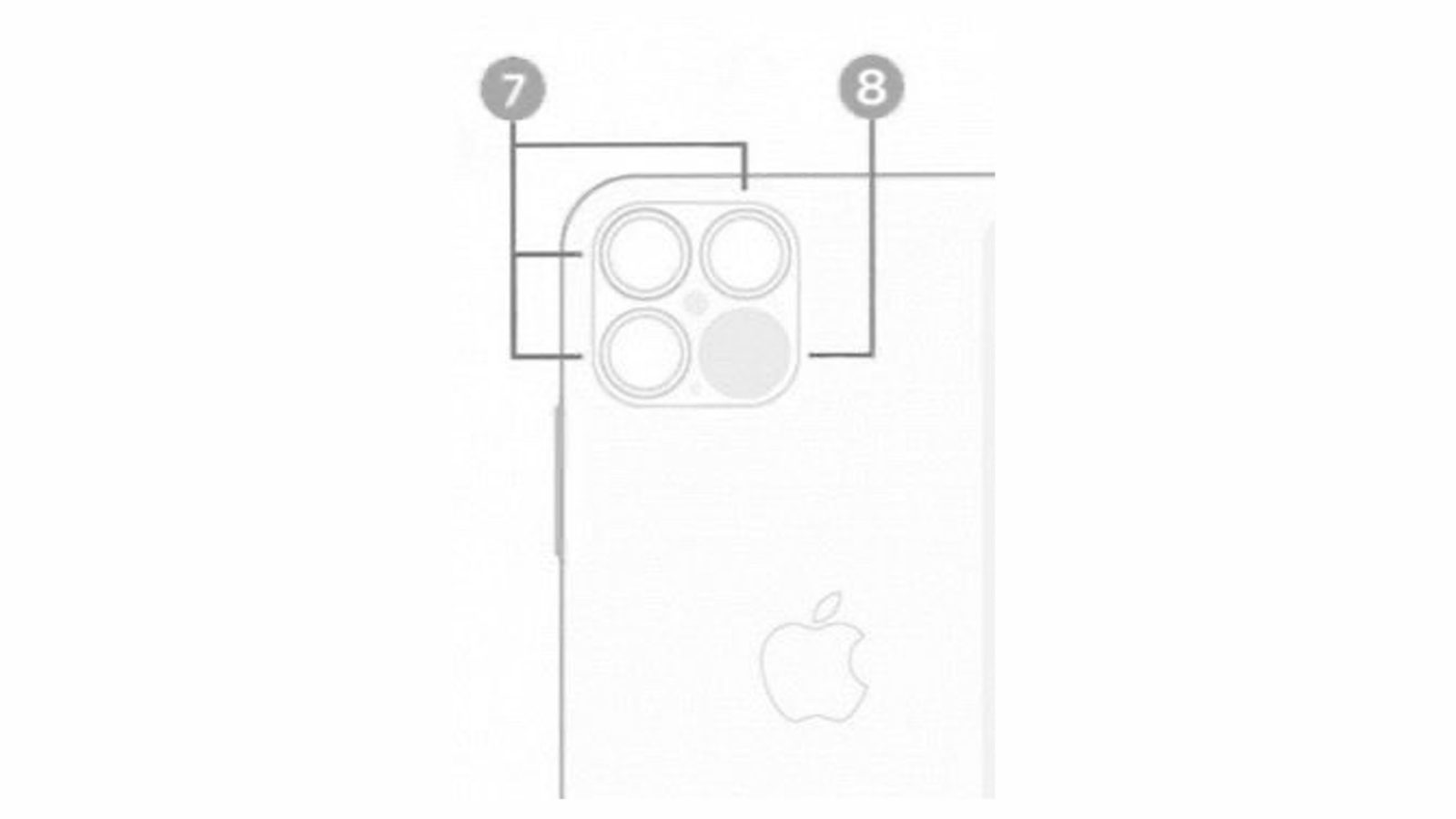 Leaked image shows off apparent iPhone 12 Pro with triple lens camera and LiDAR  Scanner - 9to5Mac