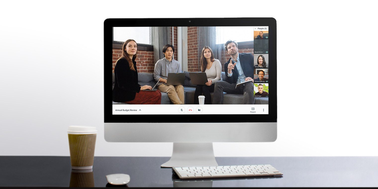 Zoom alternative Google Hangouts Meet