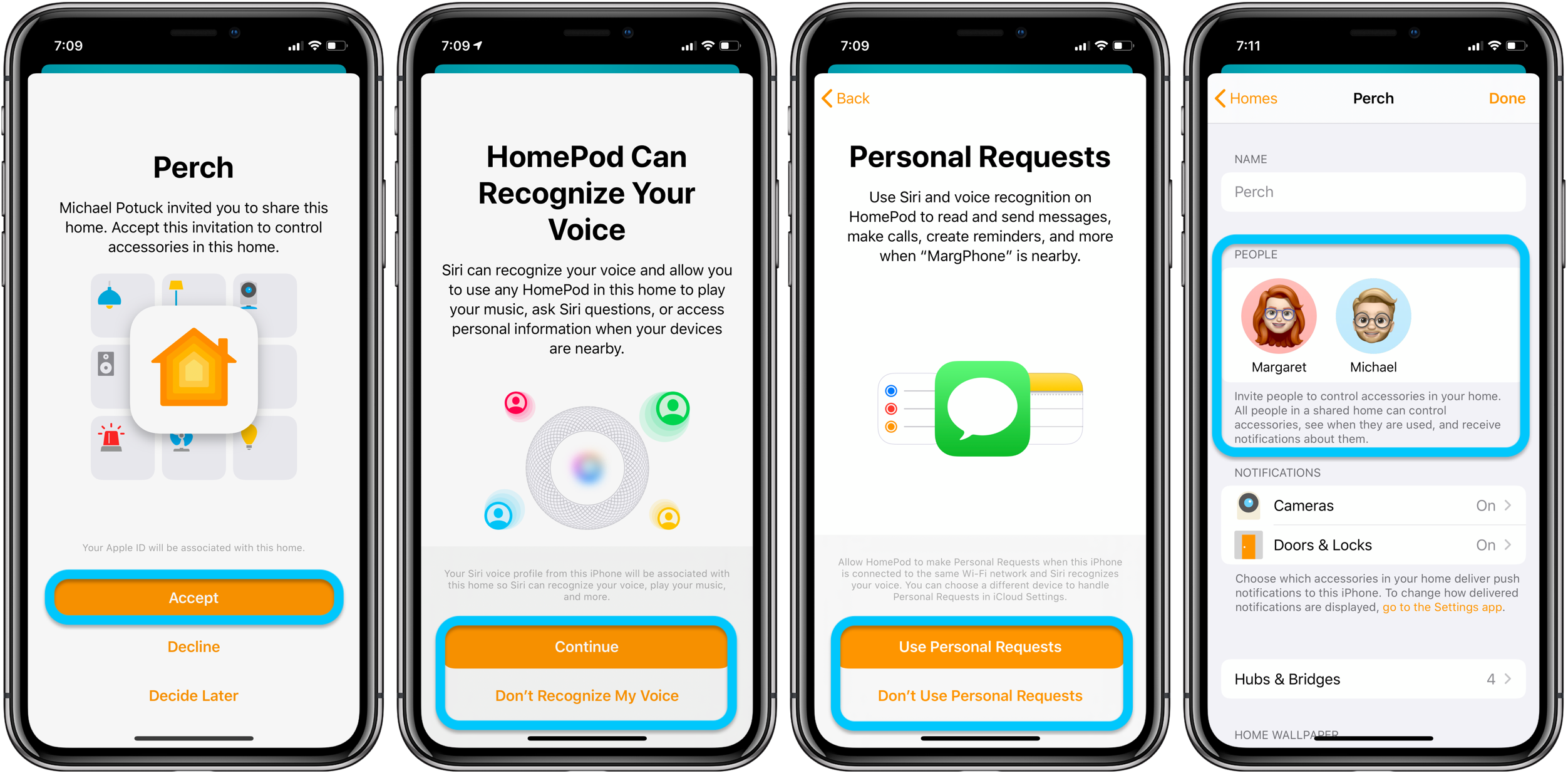 How to share HomeKit access iPhone walkthrough