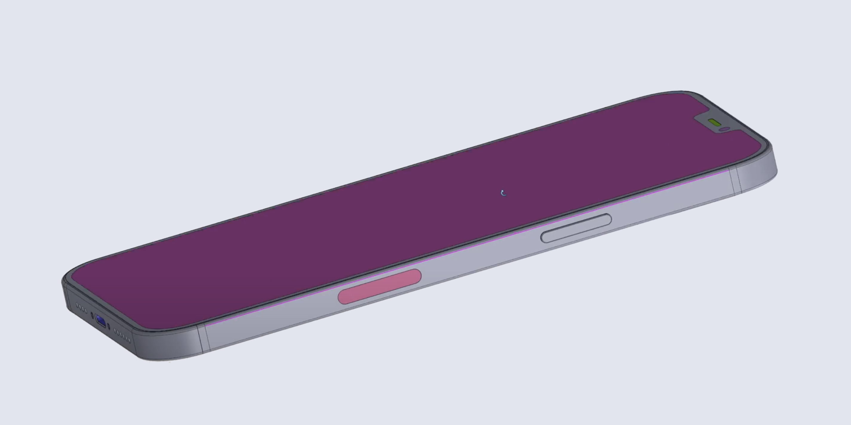 Iphone 12 Pro Max Schematics Show Off Thinner Body Design With Smaller Screen Bezels Bigger Antenna Lines And Rear Cameras Smart Connector 9to5mac