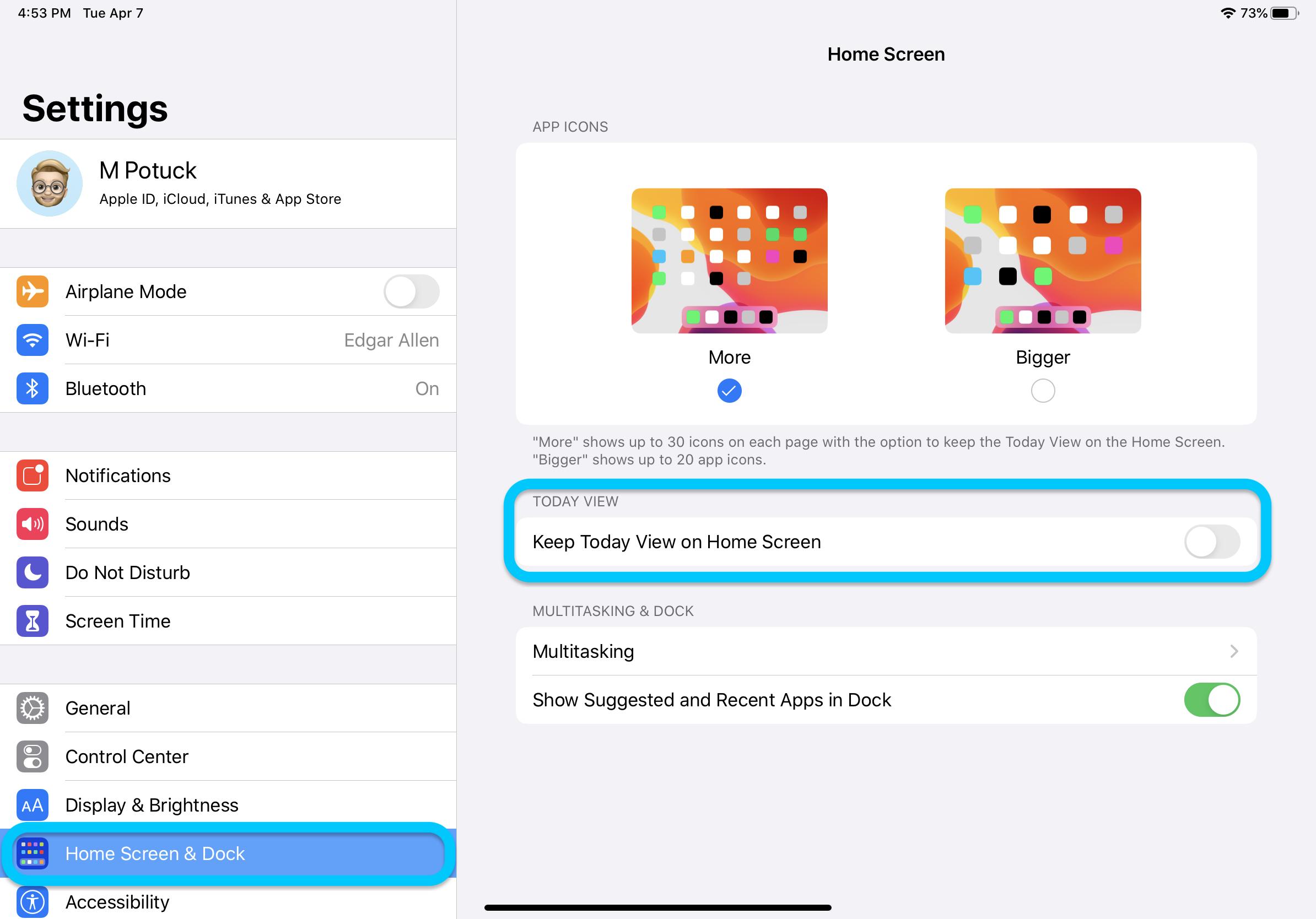 keep widgets iPad Home screen walkthrough
