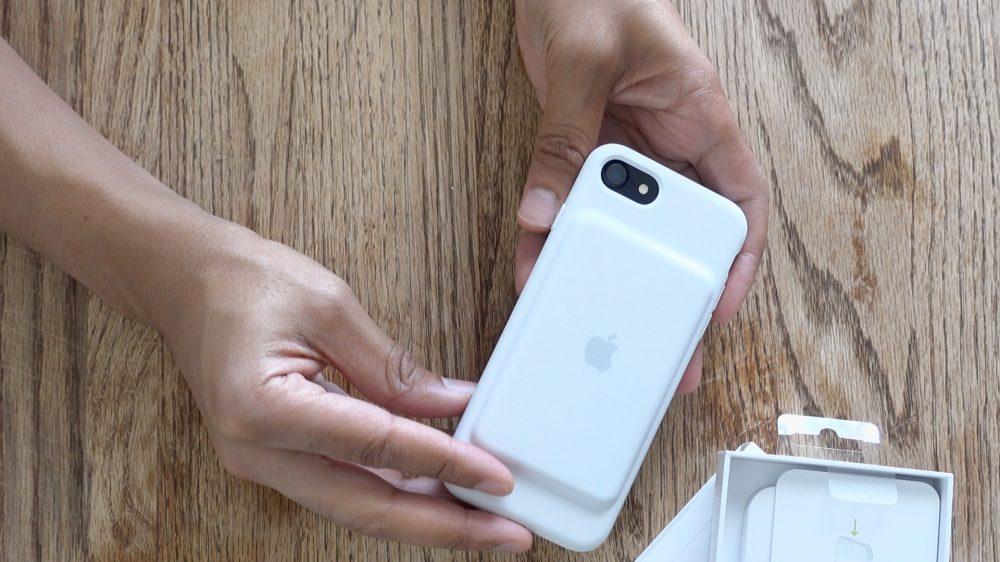 iPhone se smart battery case
