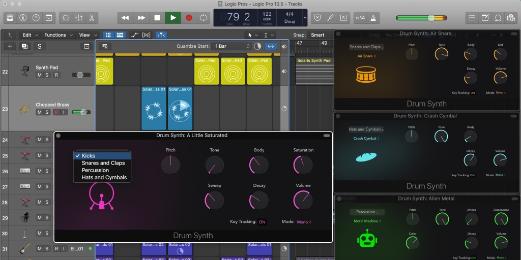 photo of Logic Pro X 10.5: Exploring Apple's new fully-integrated Drum Synth image