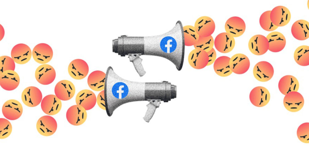 photo of Facebook algorithms promote divisive content, but company decided not to act image