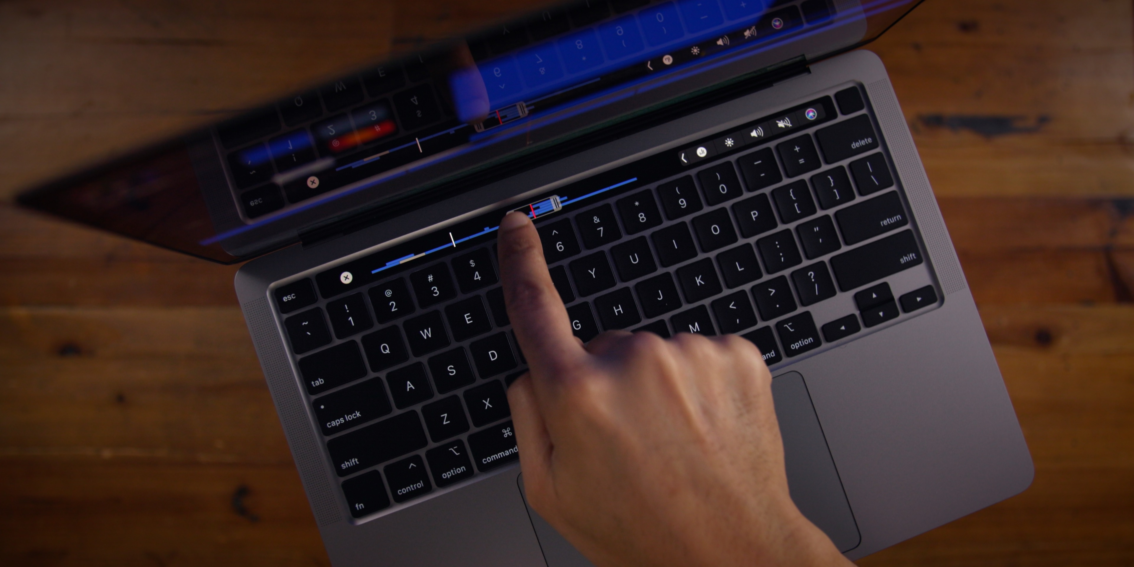 photo of Apple patents new MacBook's Touch Bar with Force Touch technology image