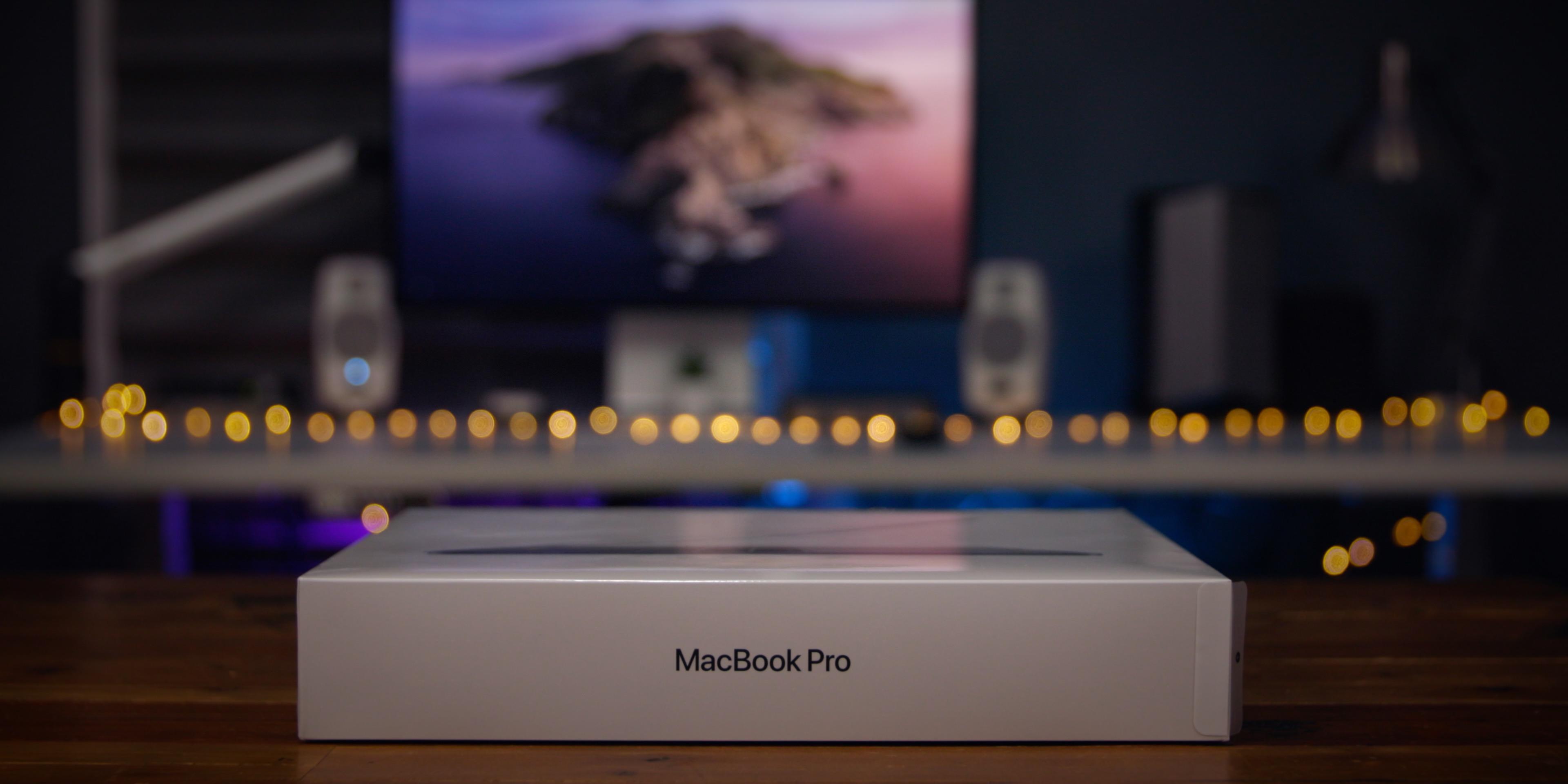 2020 MacBook Pro - Box
