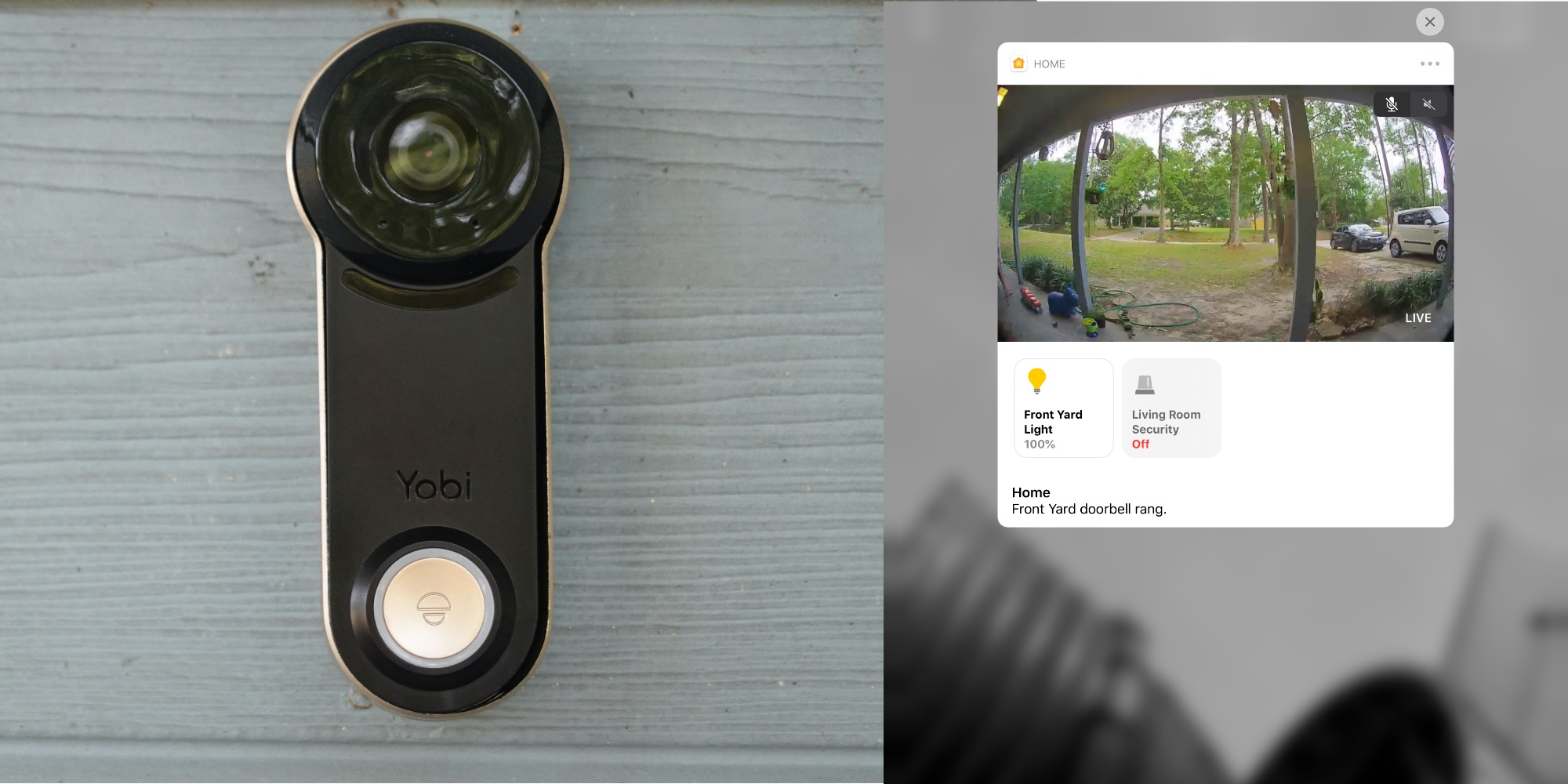photo of Yobi B3 beats the smart home industry to creating an affordable HomeKit doorbell image