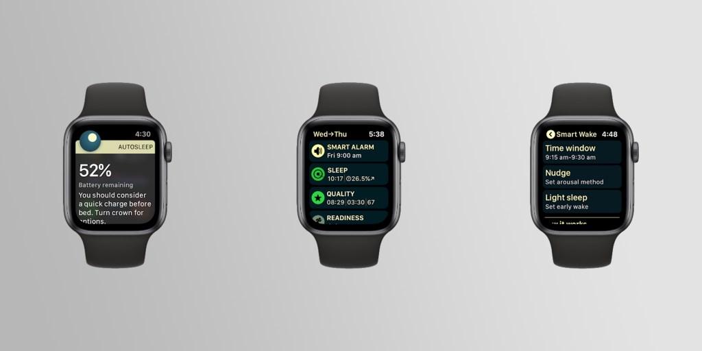 photo of Apple Watch sleep-tracking app AutoSleep adds charging reminders, Smart Alarm feature image