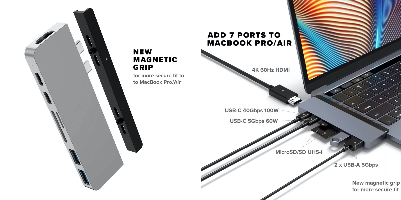 Hyper HyperDrive Duo 7-in-2- USB-C Hub MacBook Pro Air