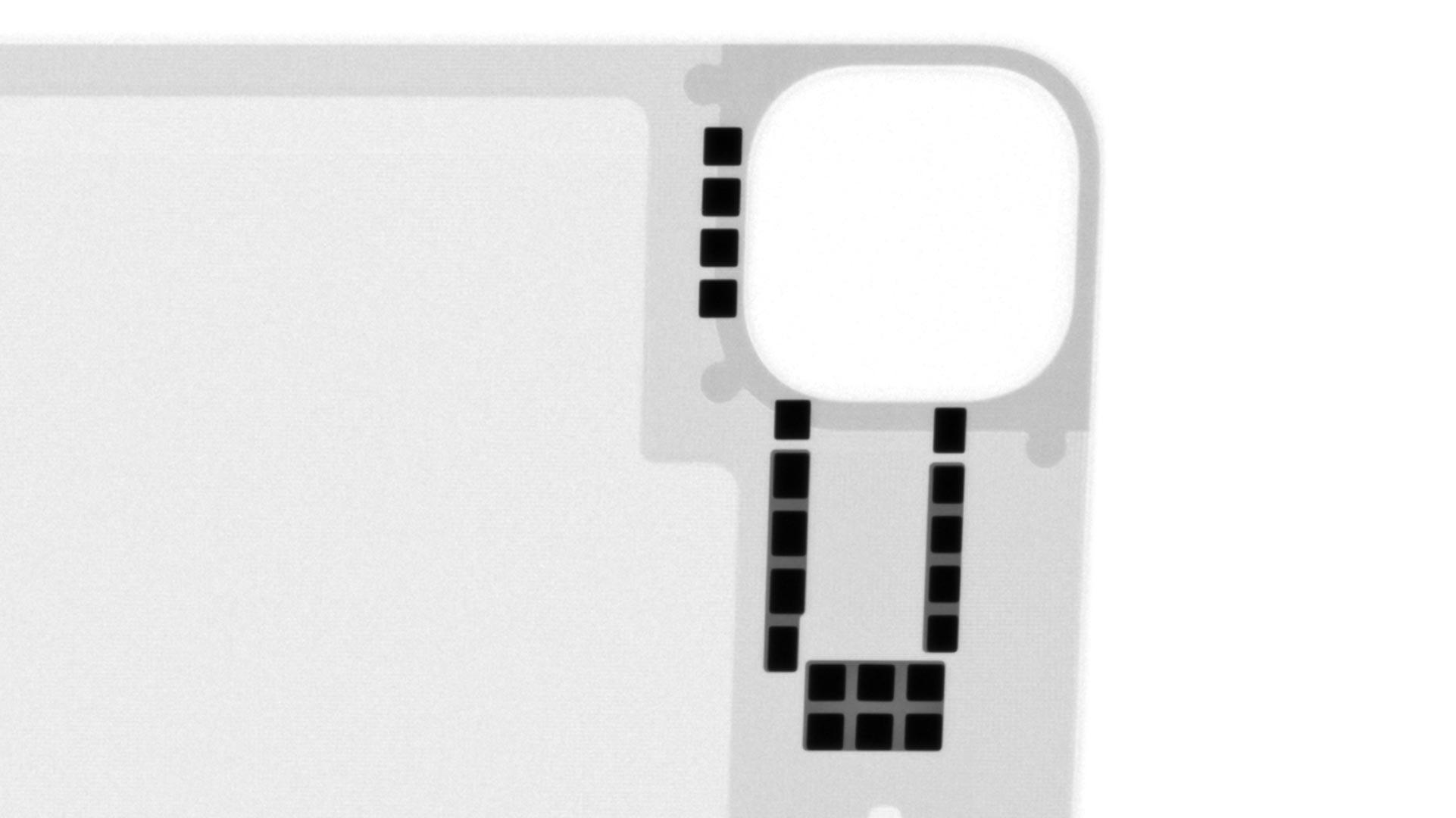 Magic Keyboard iPad Pro X-ray magnets