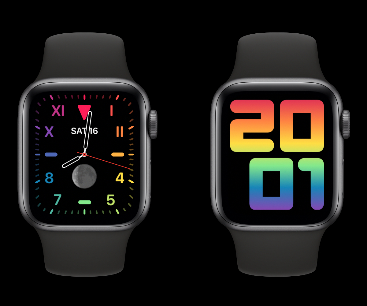 New Apple Watch faces: 2020 Pride and ...