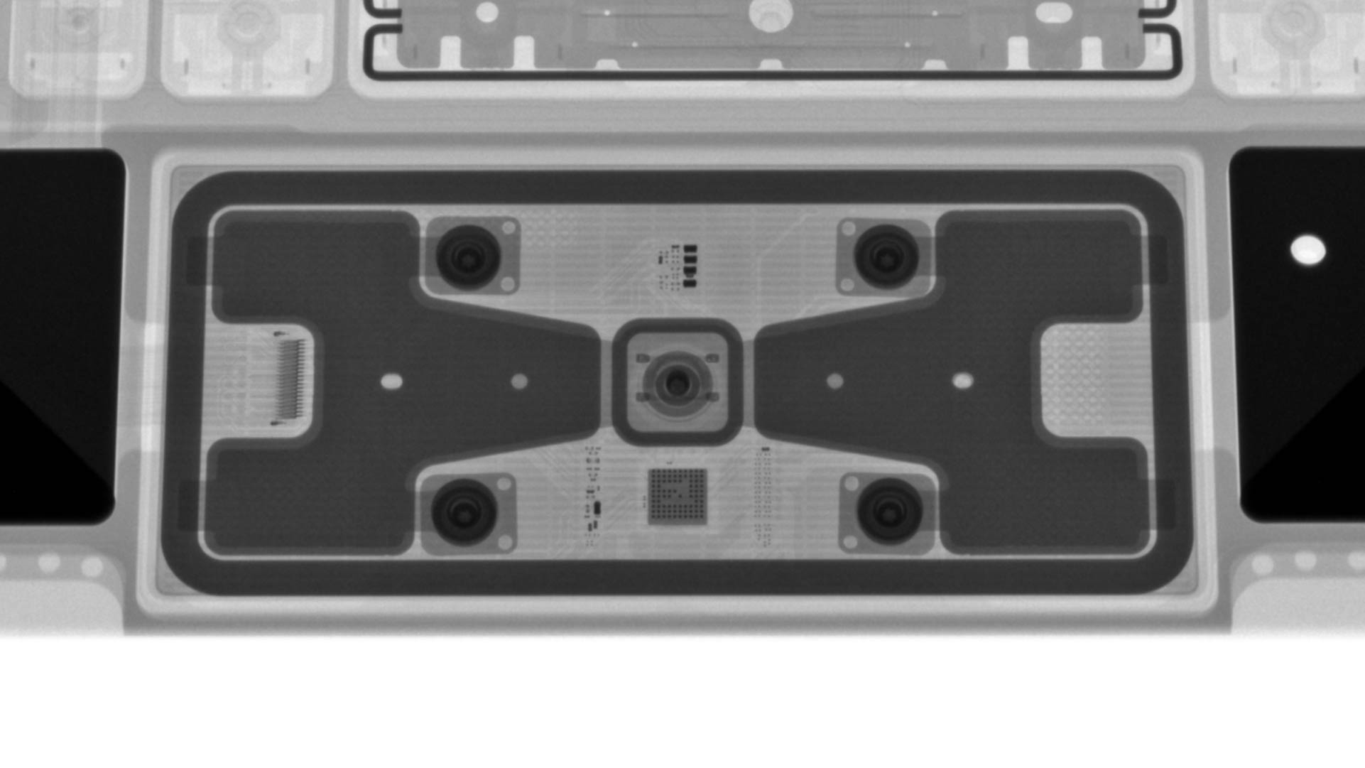Magic Keyboard iPad Pro iFixit X-rays