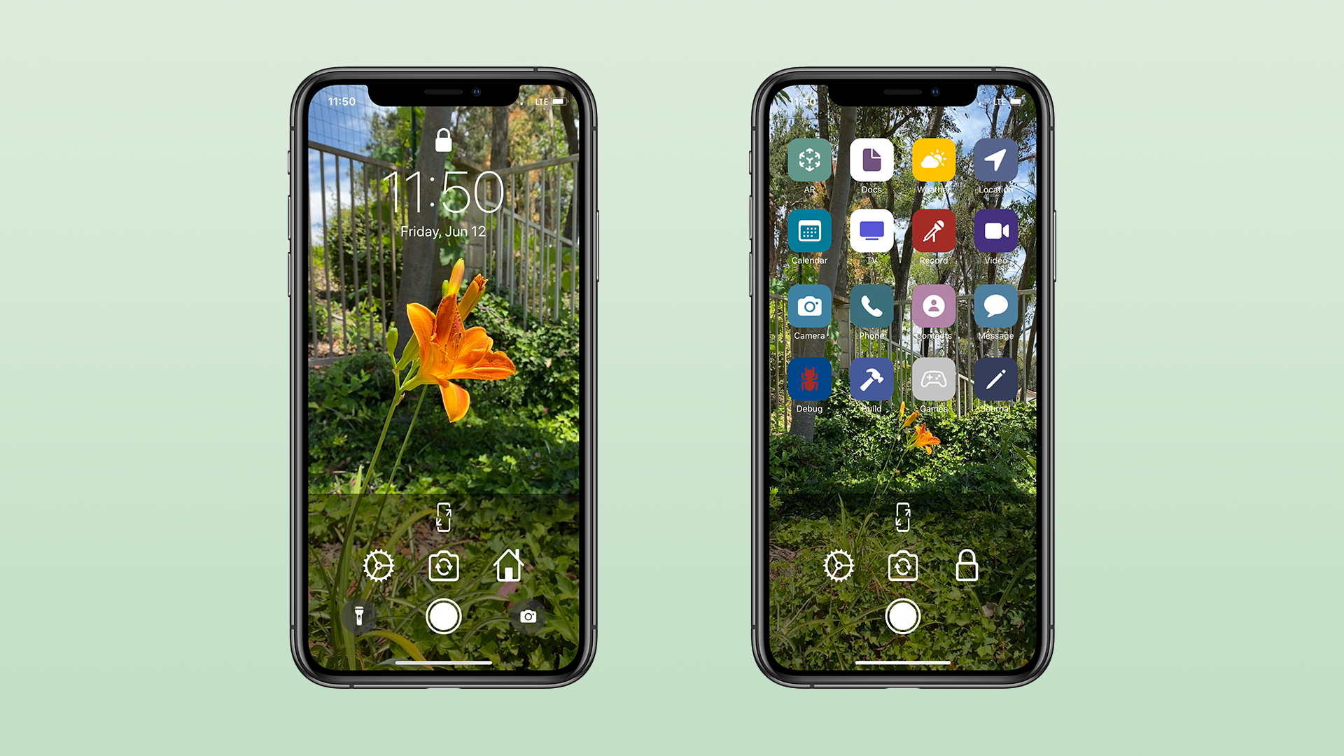 Lockne Is A Camera App Designed To Help You Create Wallpapers That Fit The Iphone Screen 9to5mac