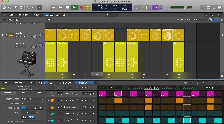 Logic Pro Step Sequencer Live Loops