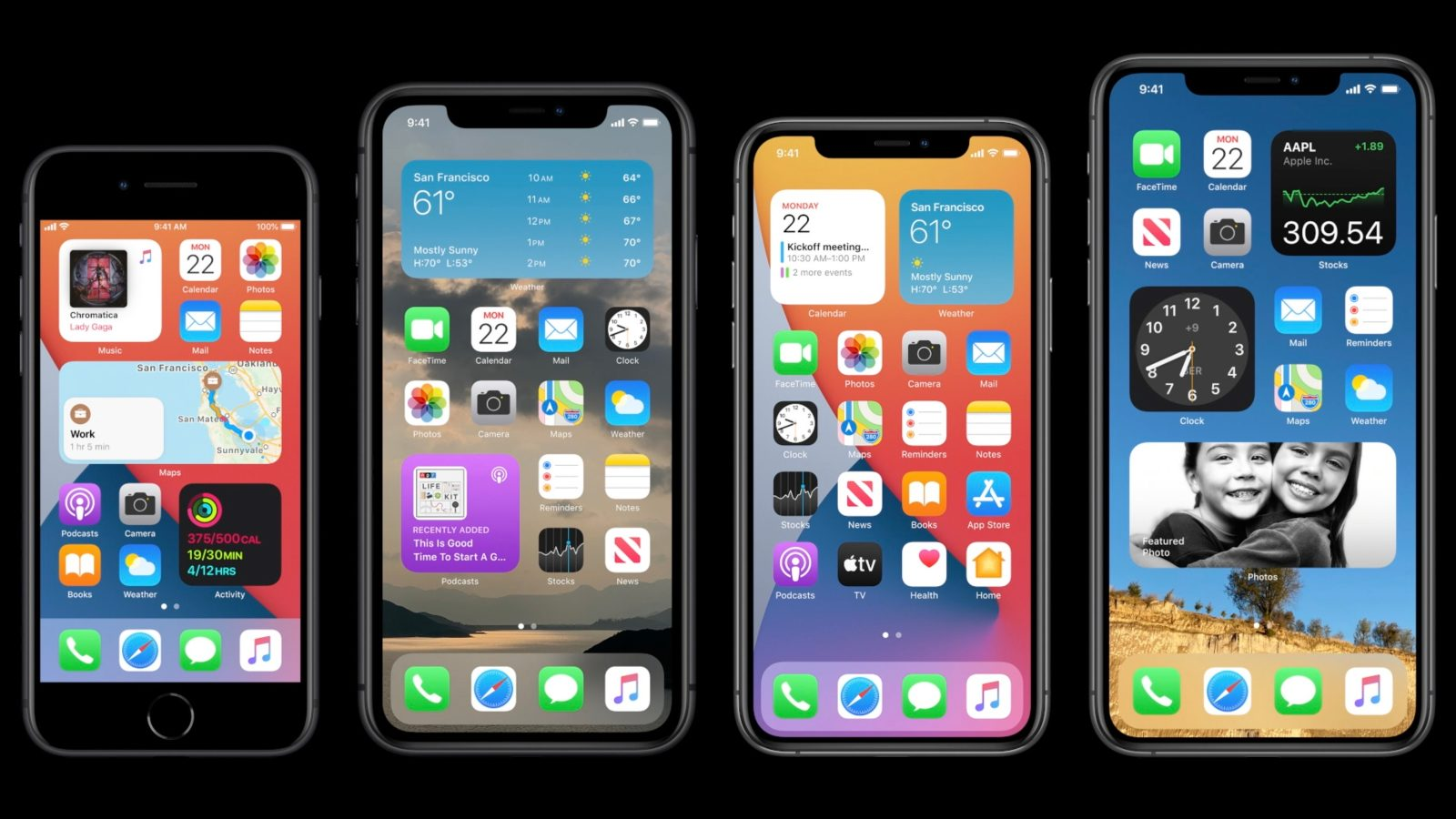 Apple Unveils Ios 14 With New Home Screen Design Widgets Picture In Picture More 9to5mac