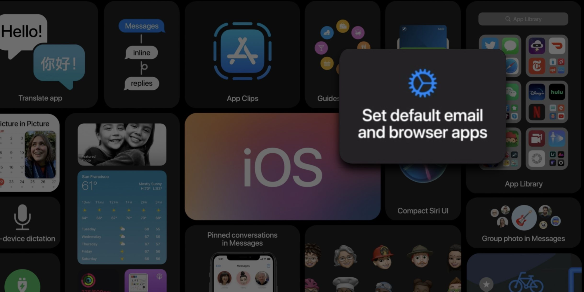 photo of iOS 14 still can't remember your default email and browser choices despite support image