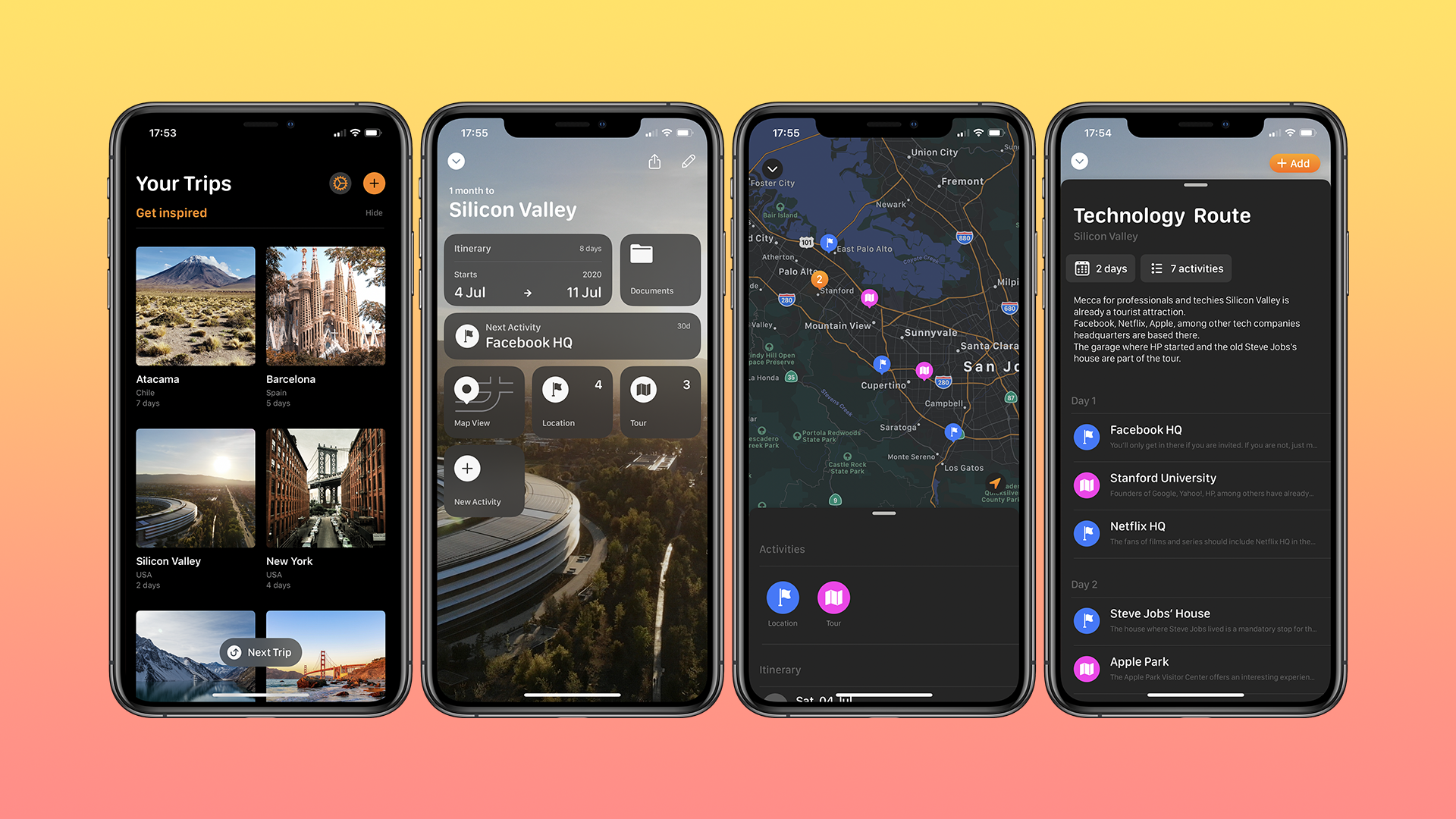 Tripsy lets you organize everything you need to plan a great trip