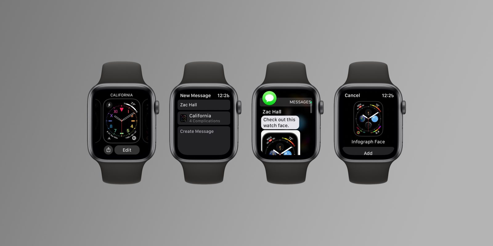 watchOS 7: Here's how sharing Apple Watch faces works - 9to5Mac