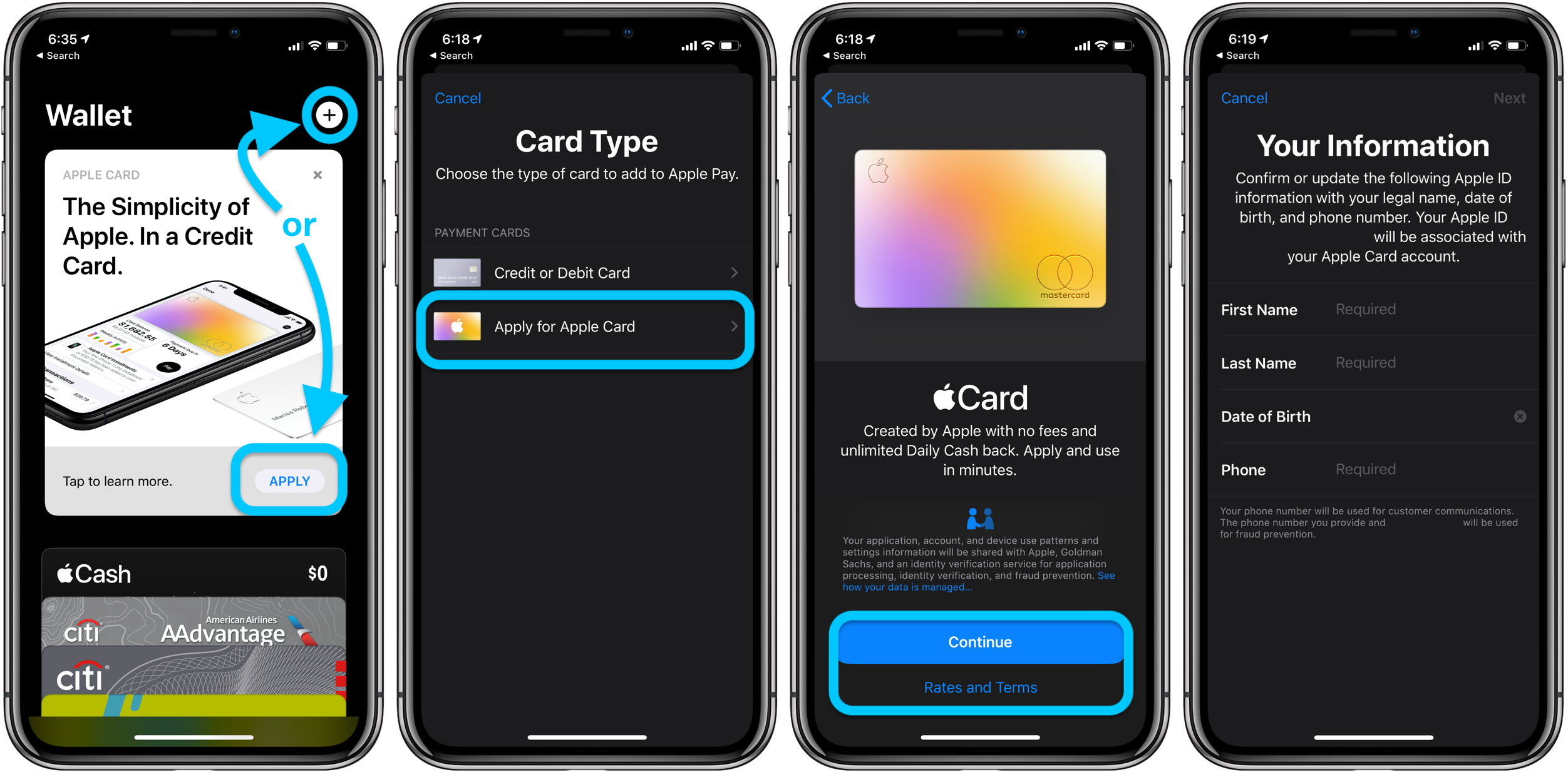 How to apply for Apple Card walkthrough 1
