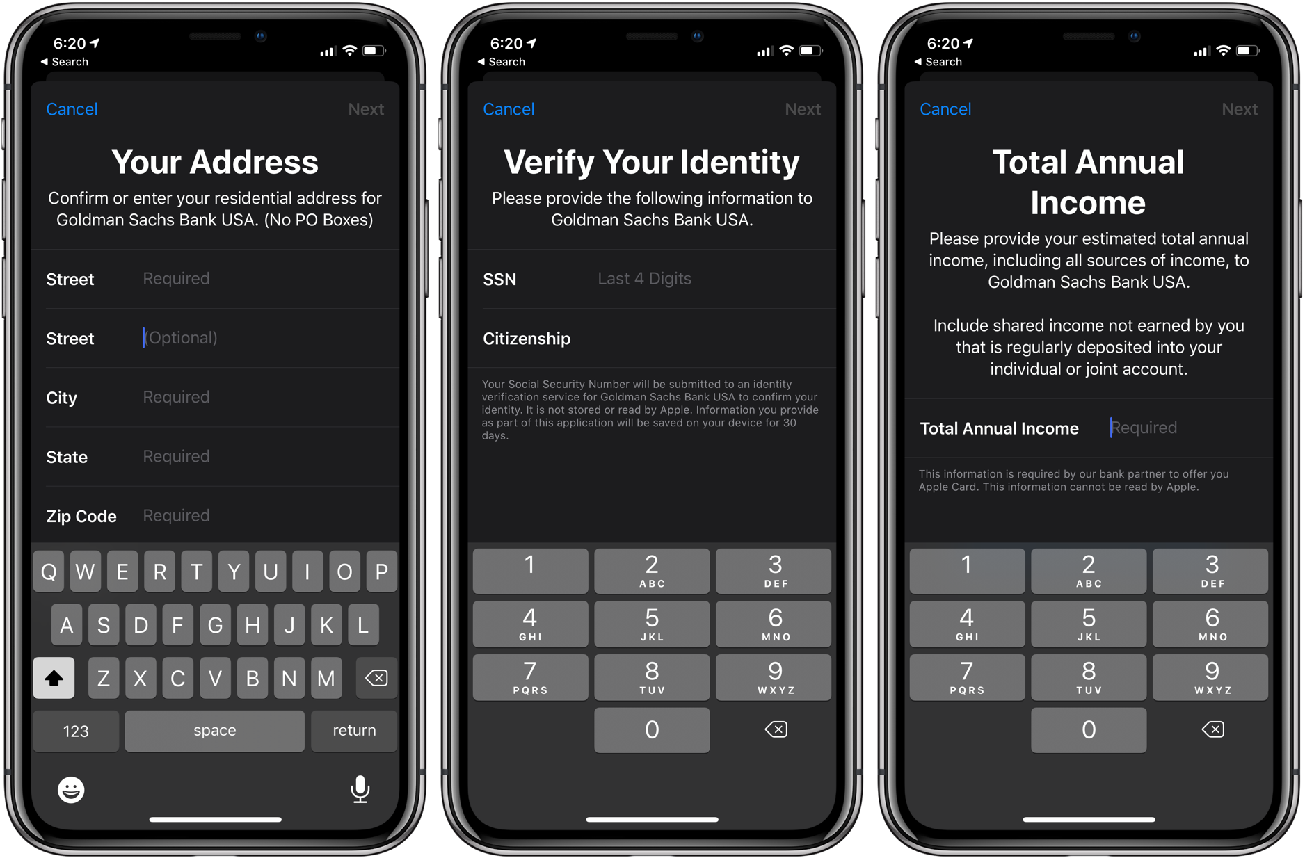 How to apply for Apple Card walkthrough 2