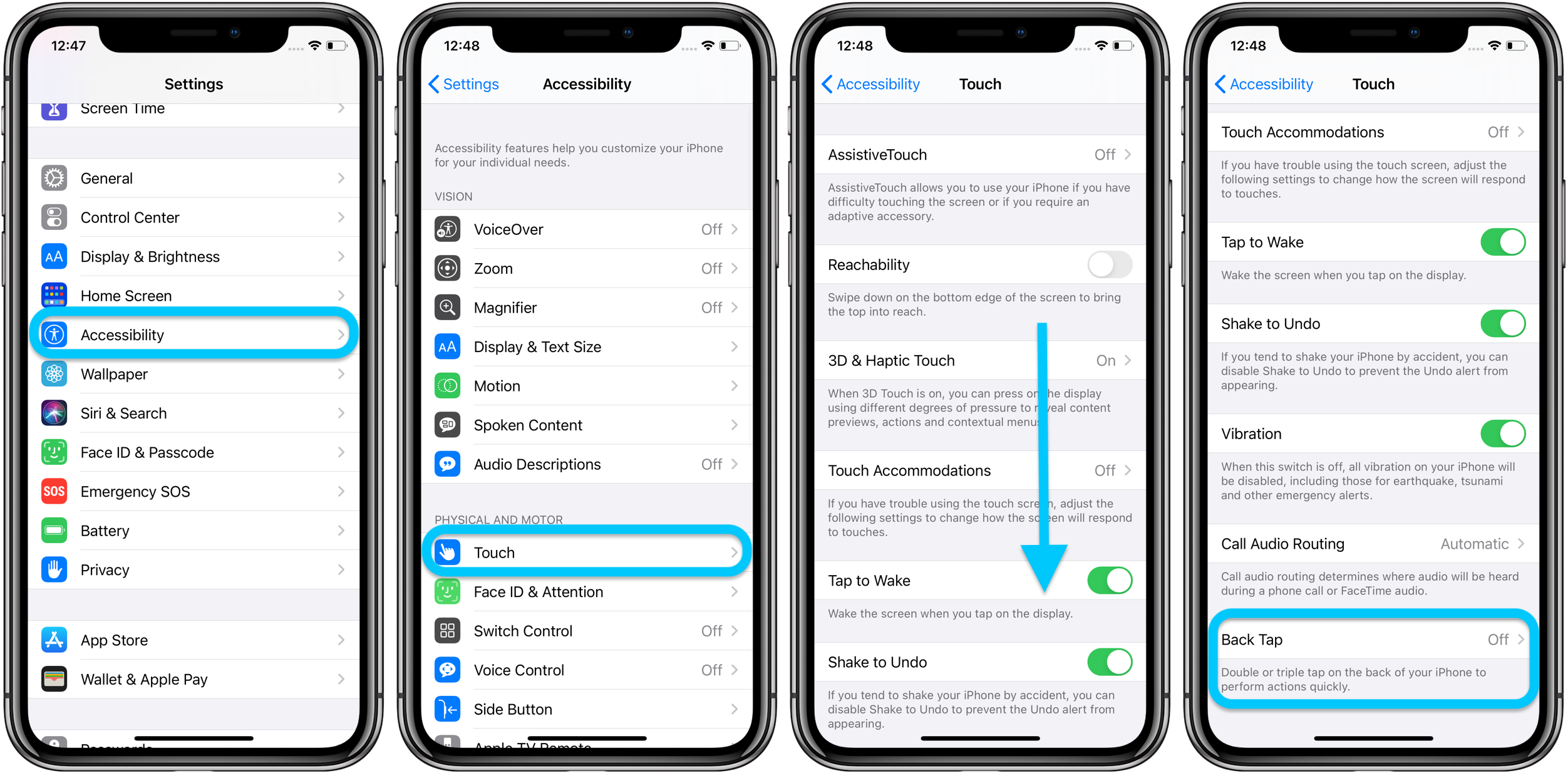 How to use iPhone Back Tap custom controls in iOS 14 - 9to5Mac