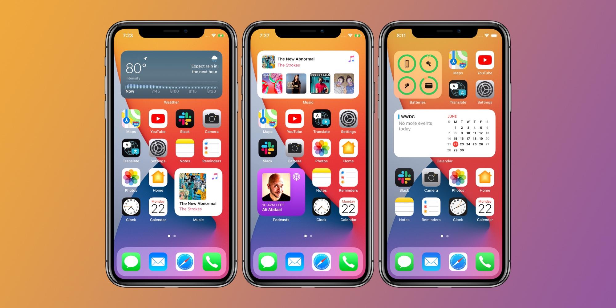 iOS 14 how to use home screen widgets iPhone and iPad