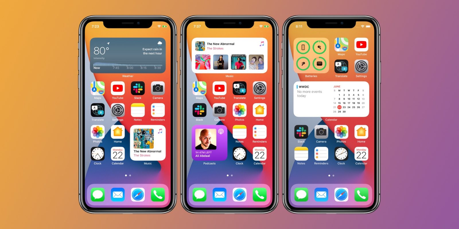apple ios 14, <b> Apple&#8217;s iOS 14 reveal is giving us major Android vibes </b>