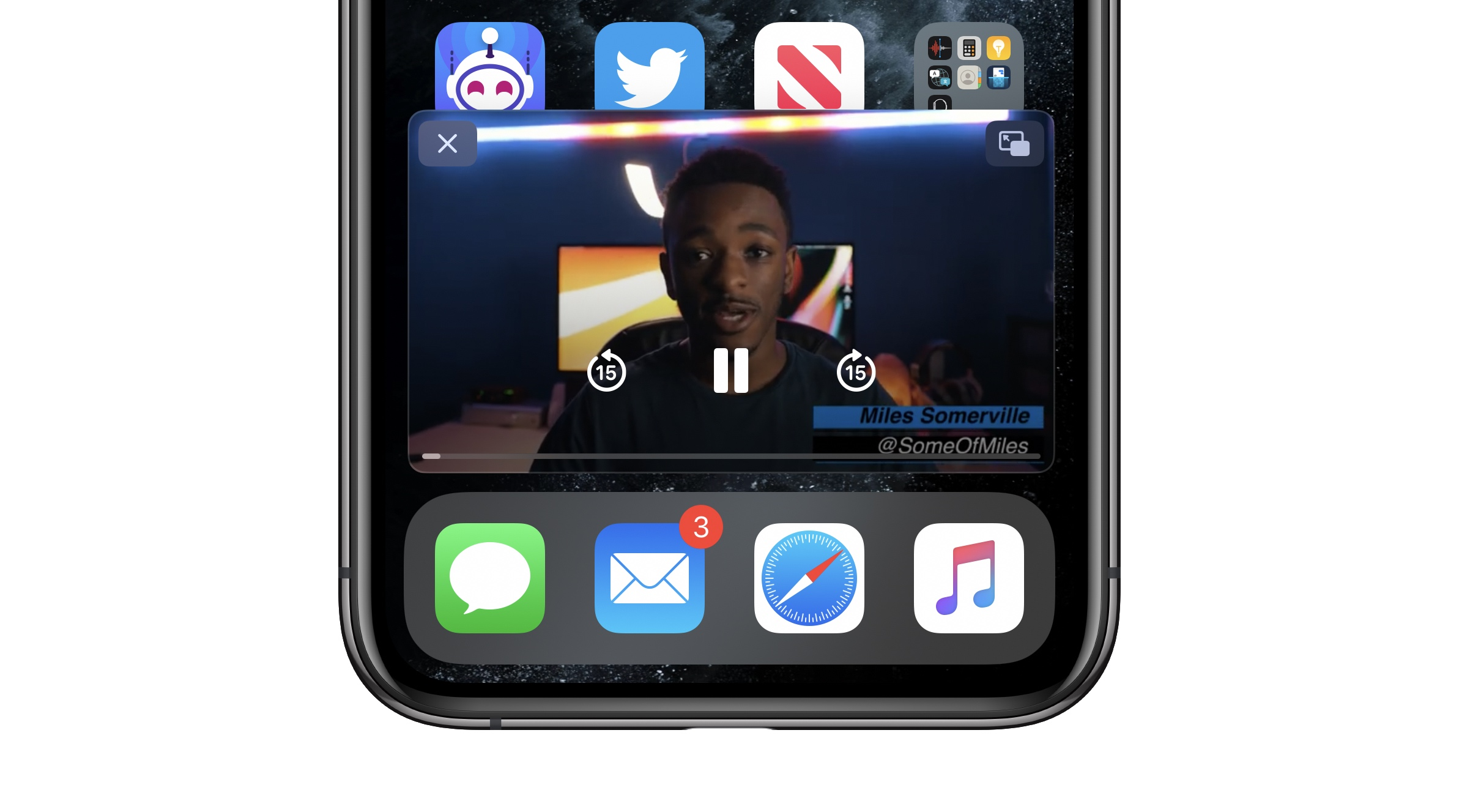 Ios 14 How To Do Picture In Picture Video Multitasking On Iphone 9to5mac