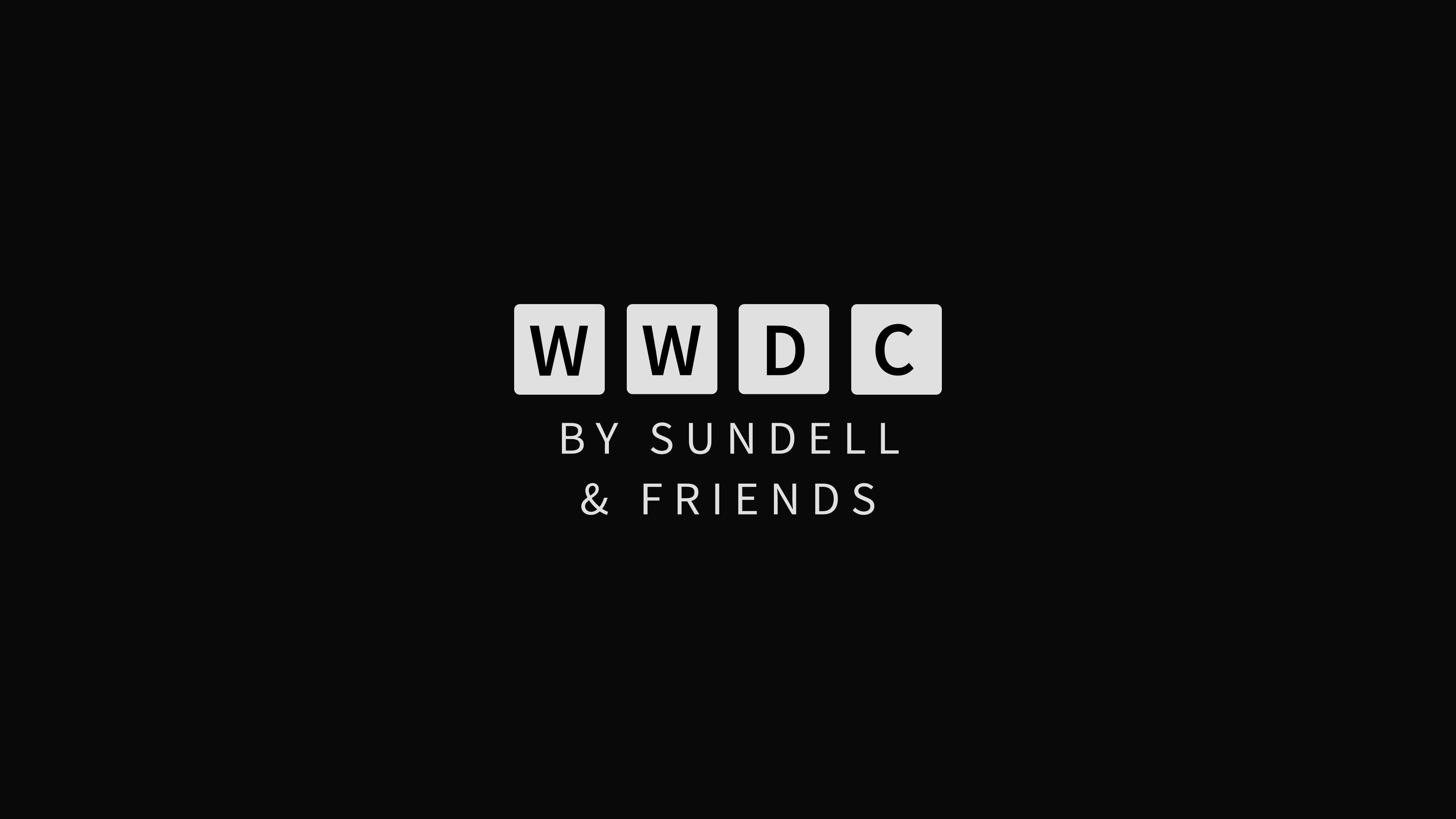 WWDC by Sundell & Friends #1: Keynote and Platforms State of the Union first impressions