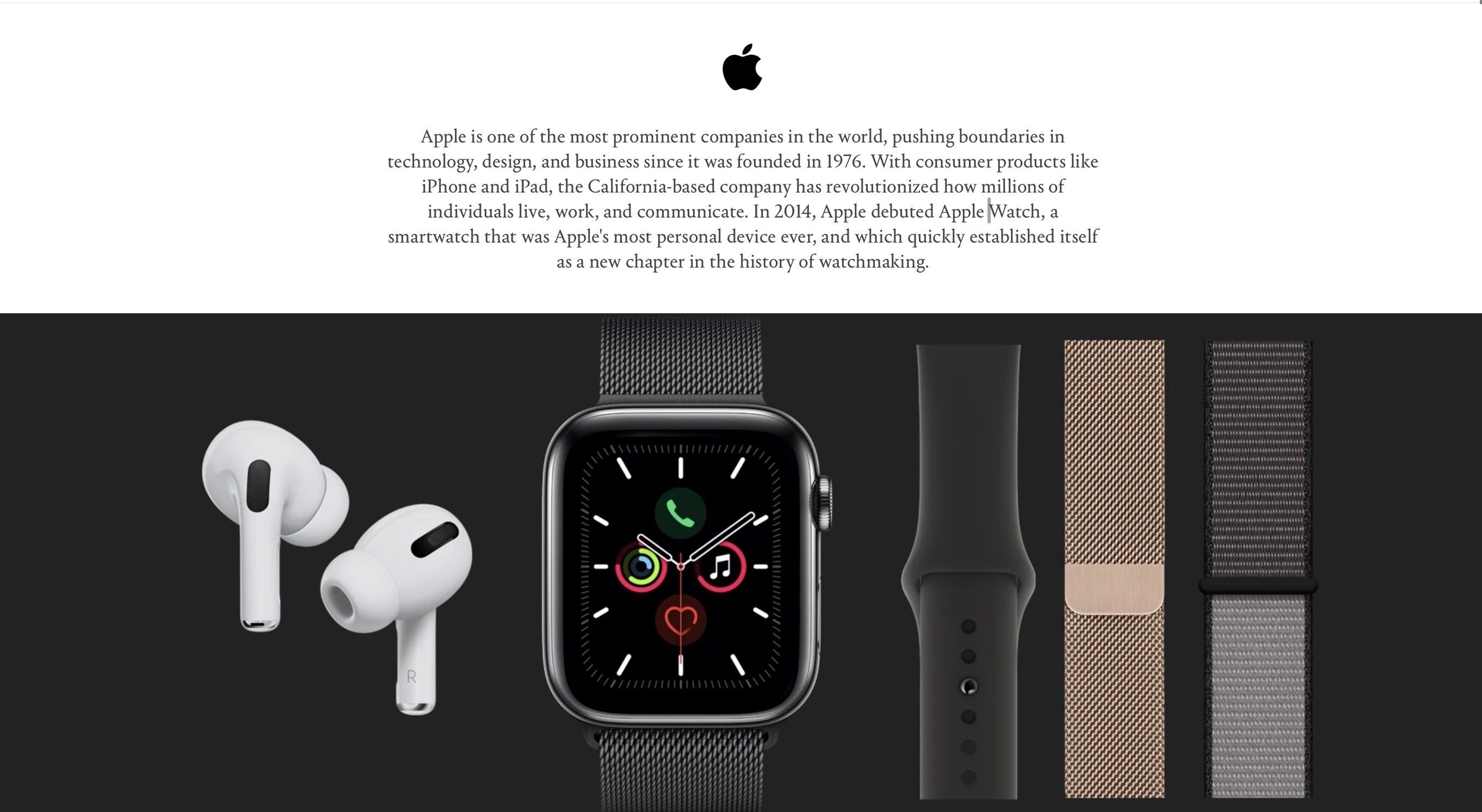 photo of Hodinkee teams up with Apple to become authorized retailer for Apple Watch Series 5 and accessories image