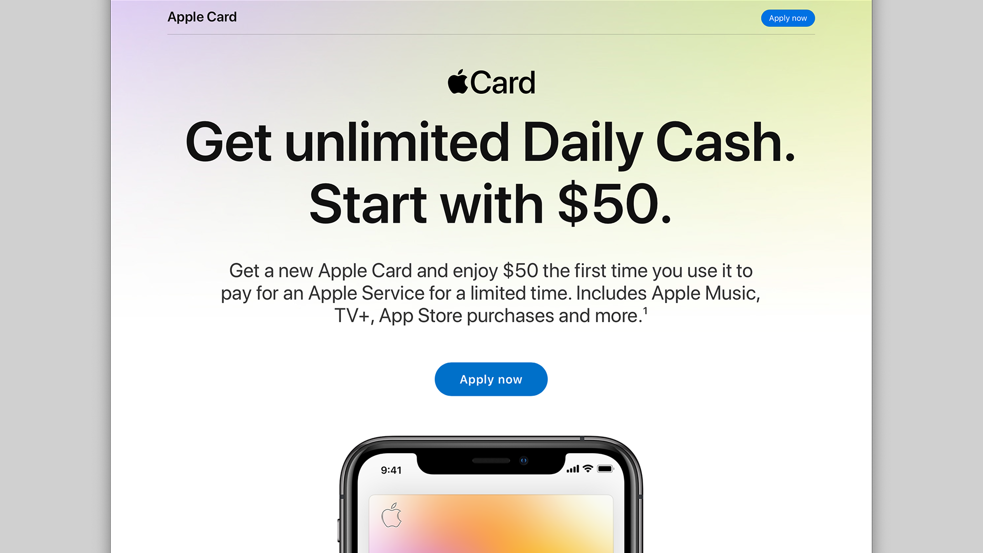 New Apple Card promo offers $10 bonus when you sign up for an