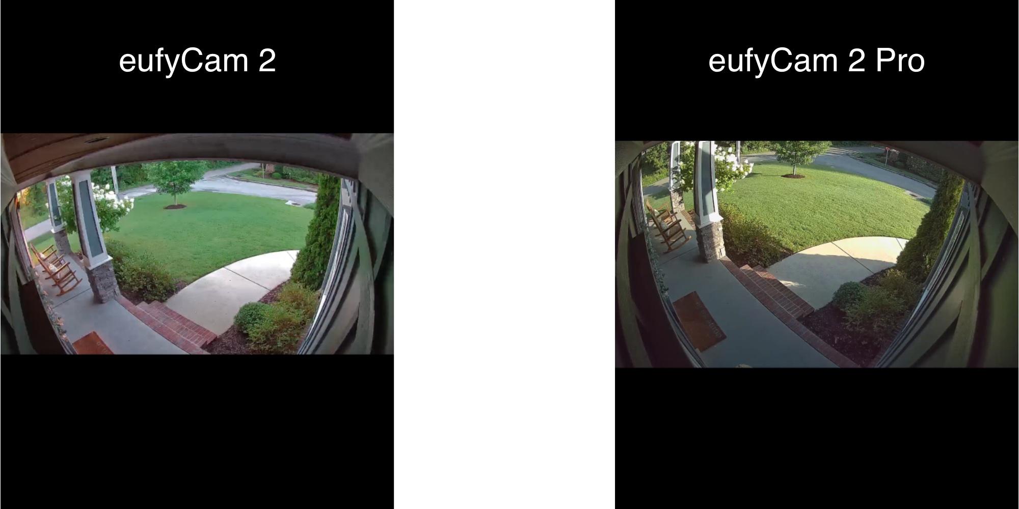 EufyCam 2 Pro vs Eufy Cam