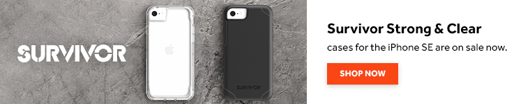 iPhone SE case- Griffin Survivor