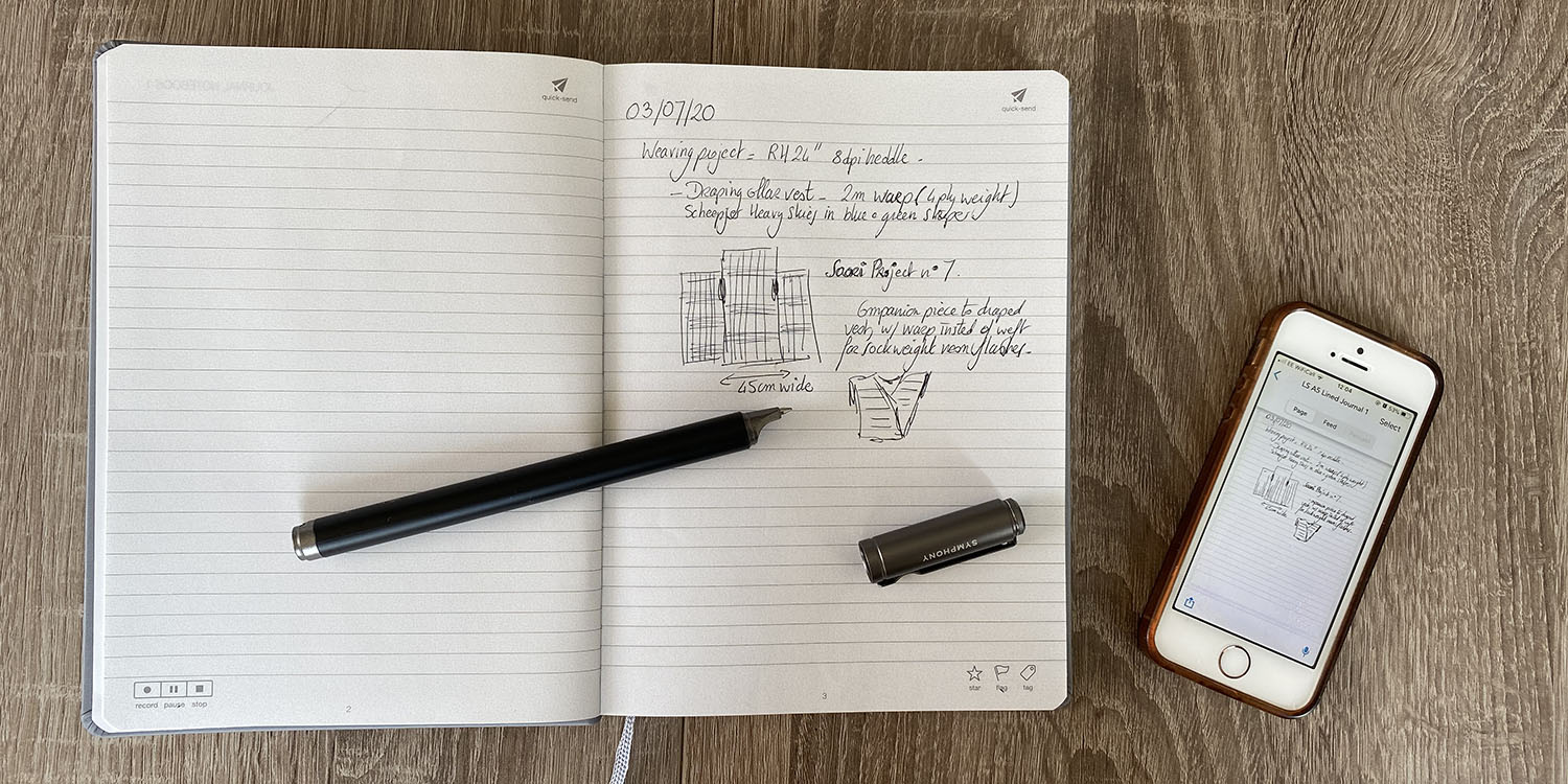 Tested: Livescribe Symphony, an Apple Pencil Plus for paper lovers
