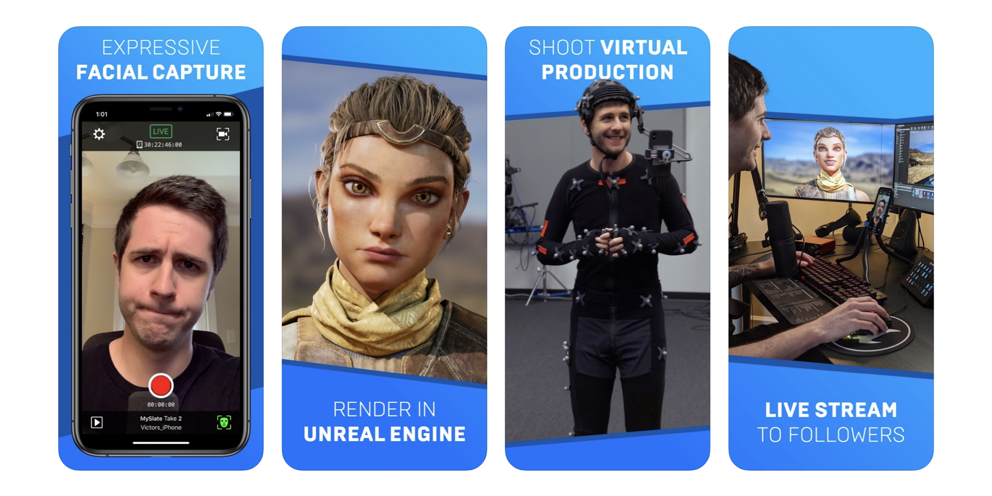 photo of Epic Games' Live Link Face app for iPhone makes facial animation capture accessible to all developers image