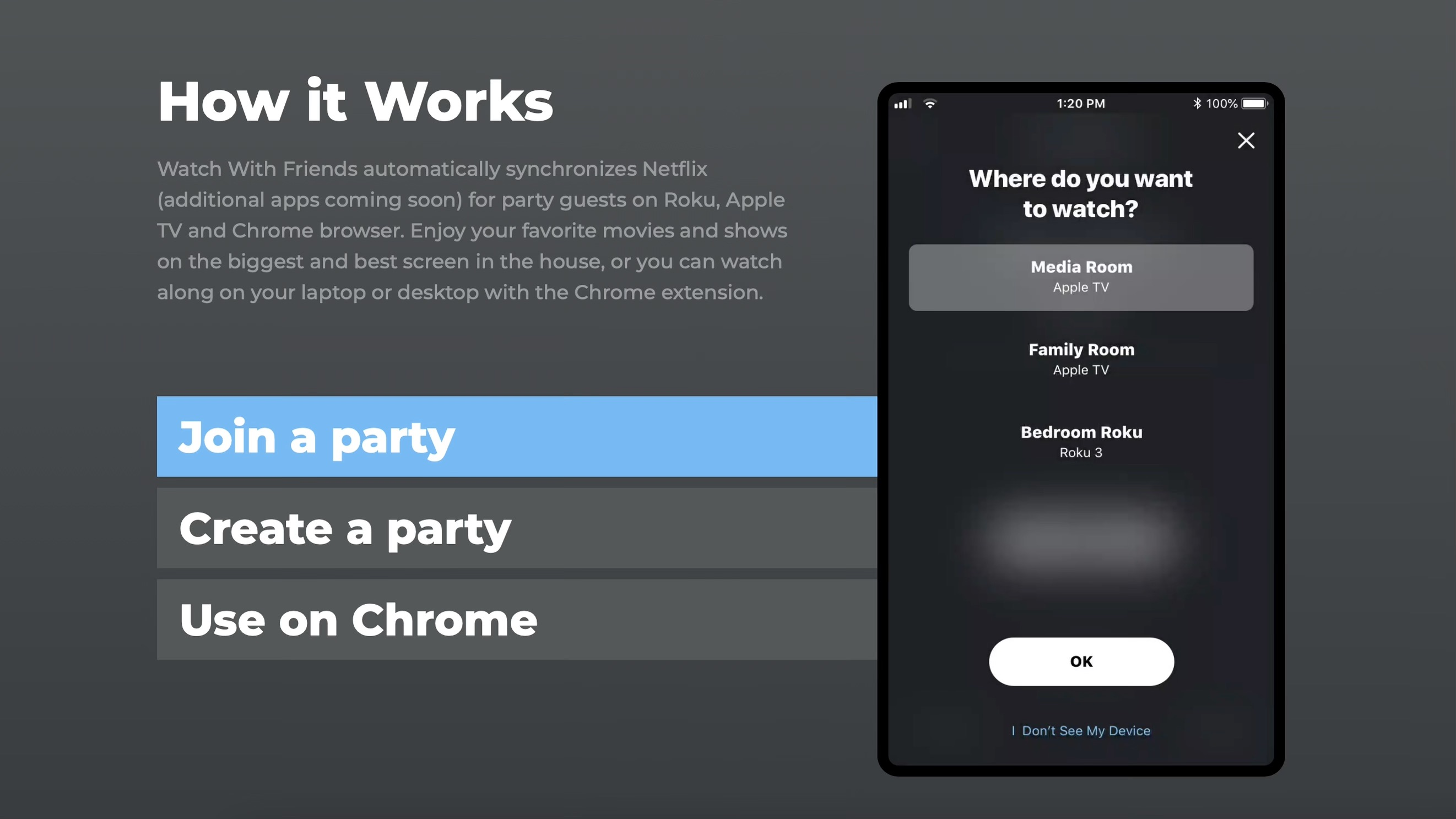 New service lets you create and join remote Netflix viewing parties with Apple TV