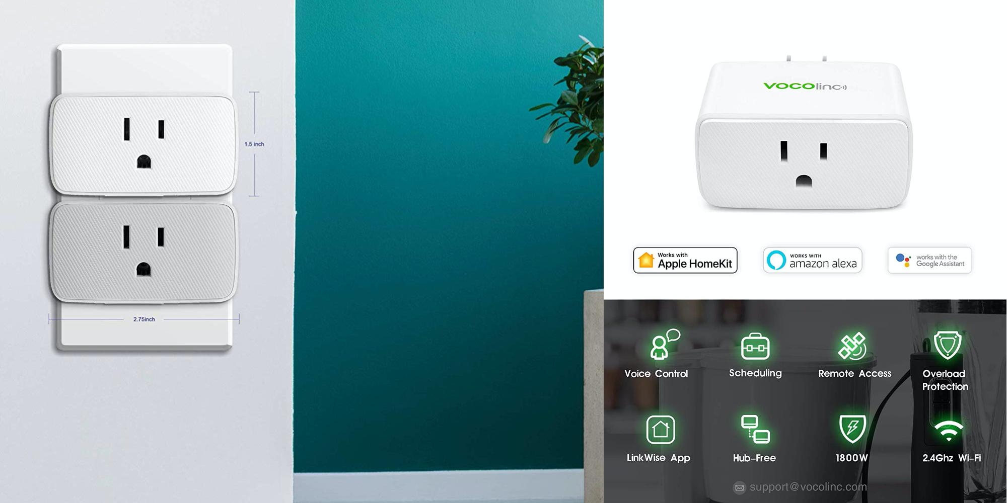 VOCOlinc smart outlets