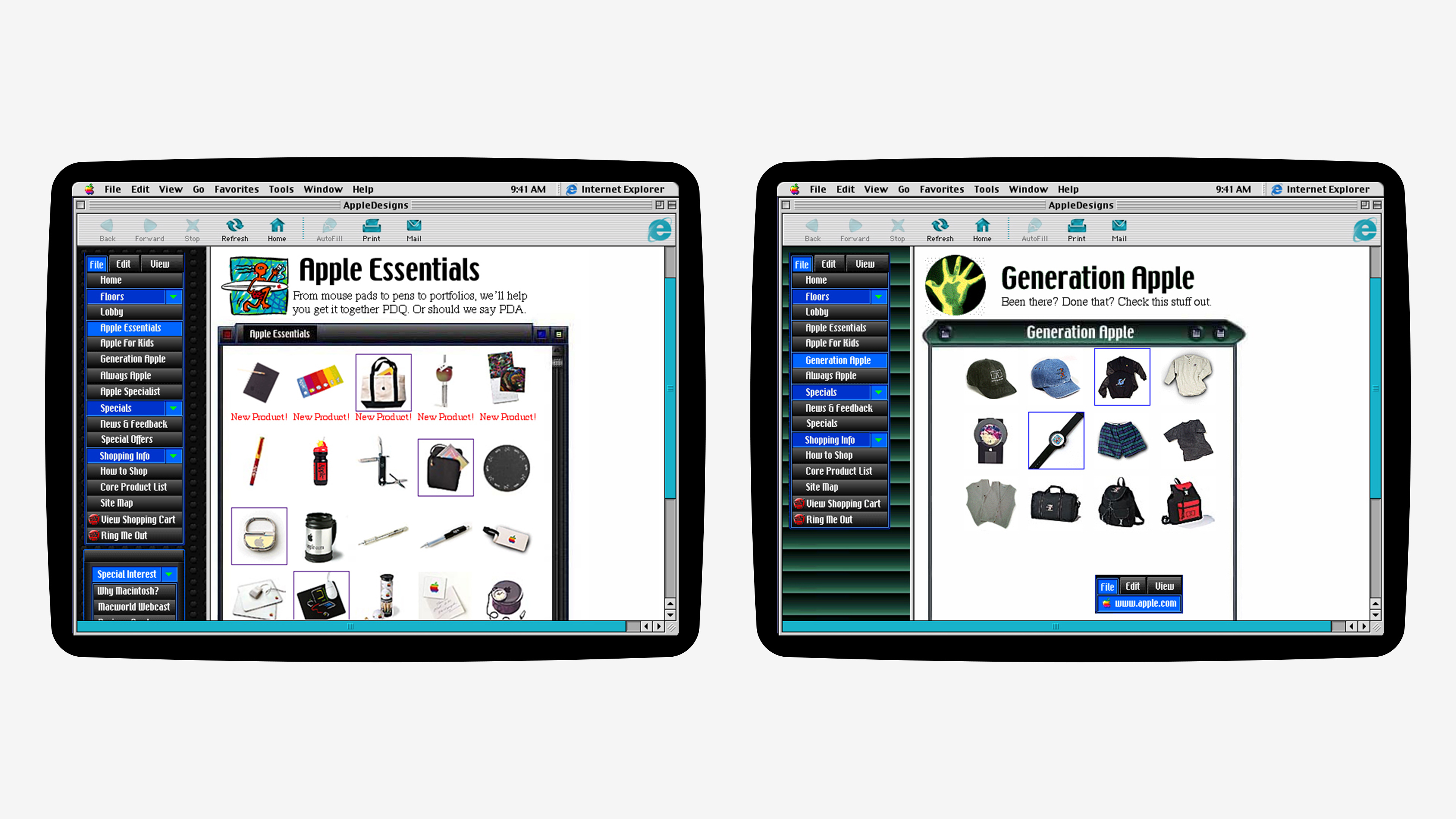 AppleDesigns Screenshots
