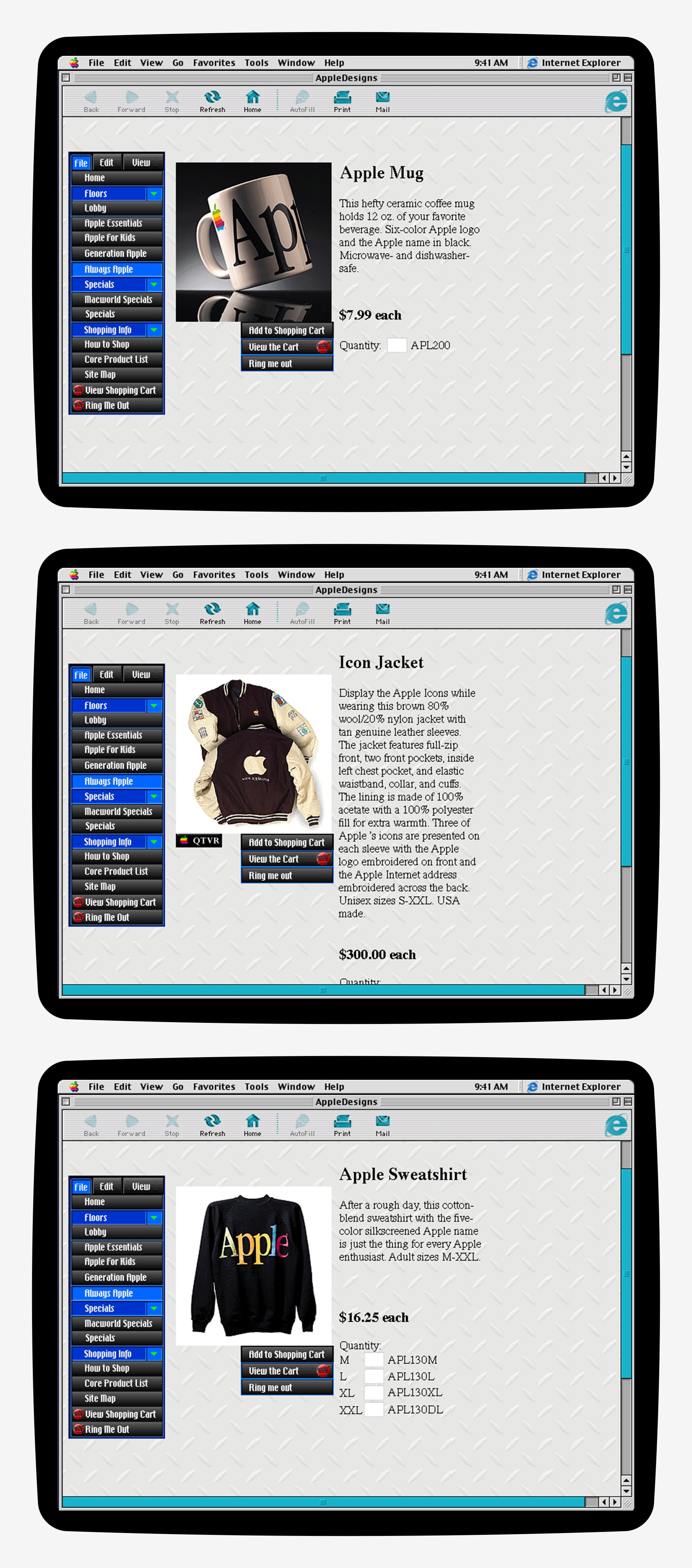AppleDesigns Six-Color Gear