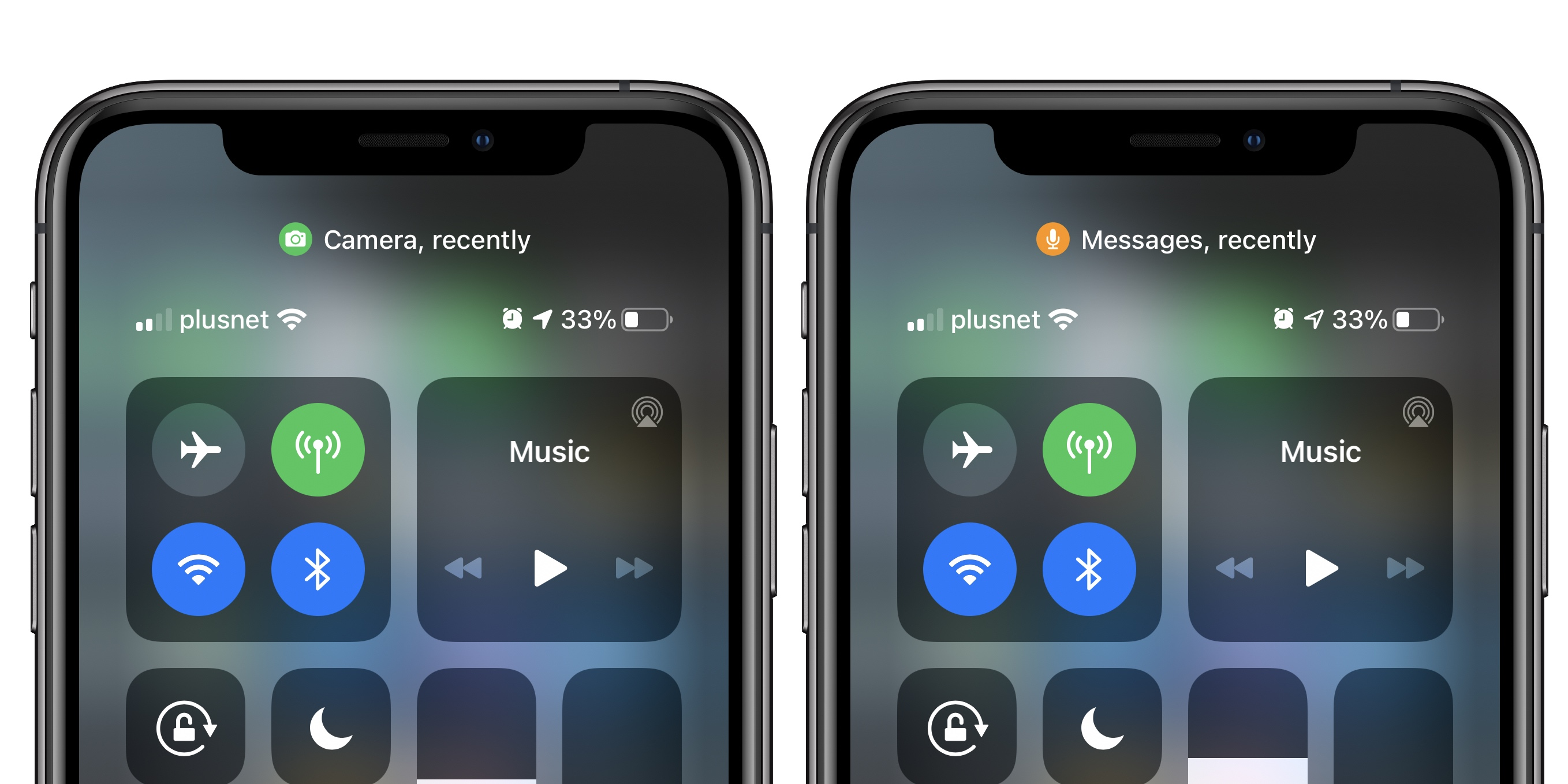 Ios 14 What Do The Orange And Green Dots In The Status Bar Mean 9to5mac