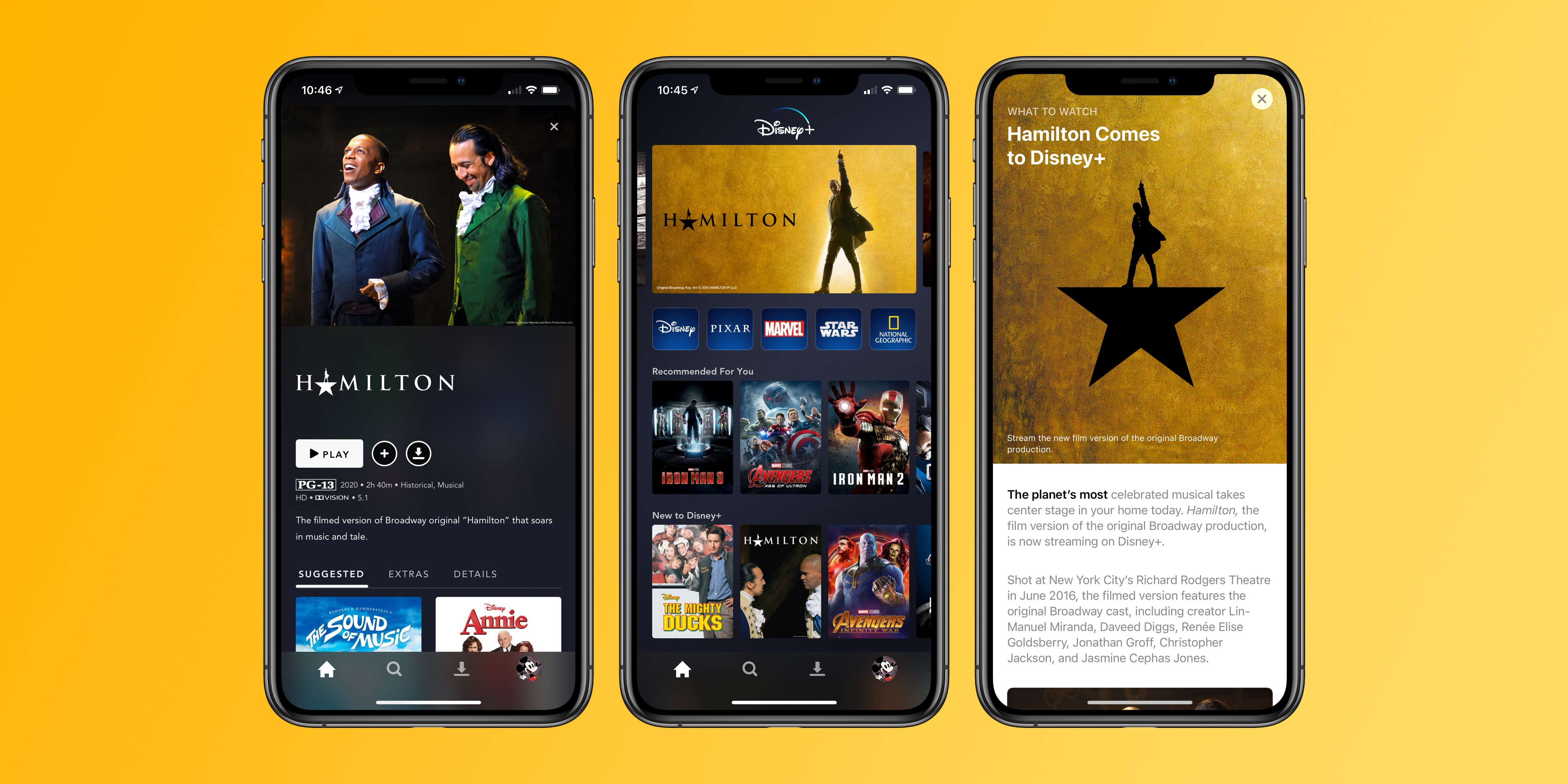 The story of how 'Hamilton' ended up on Disney+ and how to watch today – 9to5Mac