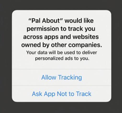 How to block iPhone app tracking walkthrough 2